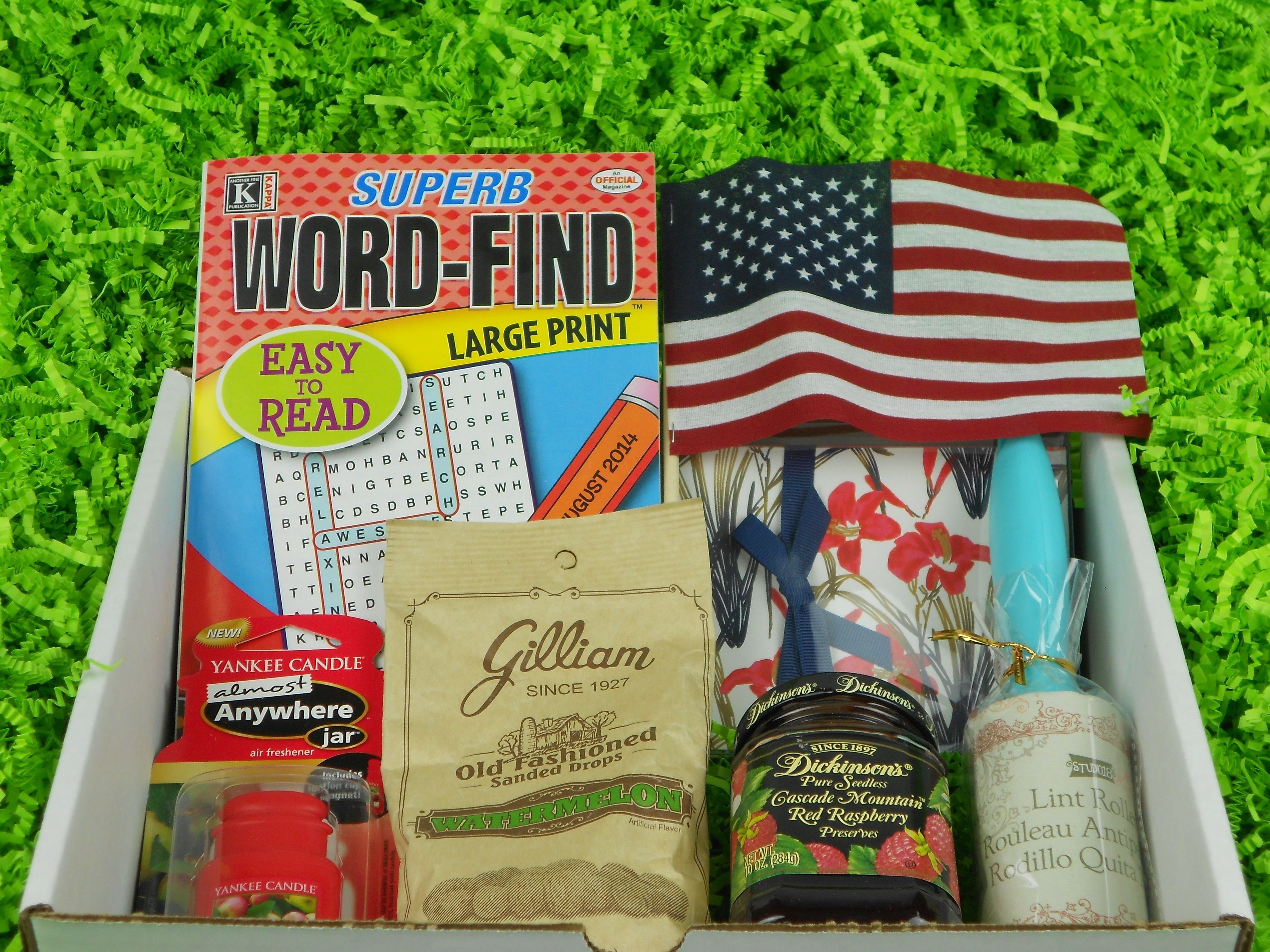 10 Beautiful Gift Ideas For The Elderly senior care box monthly care packages for senior loved ones the