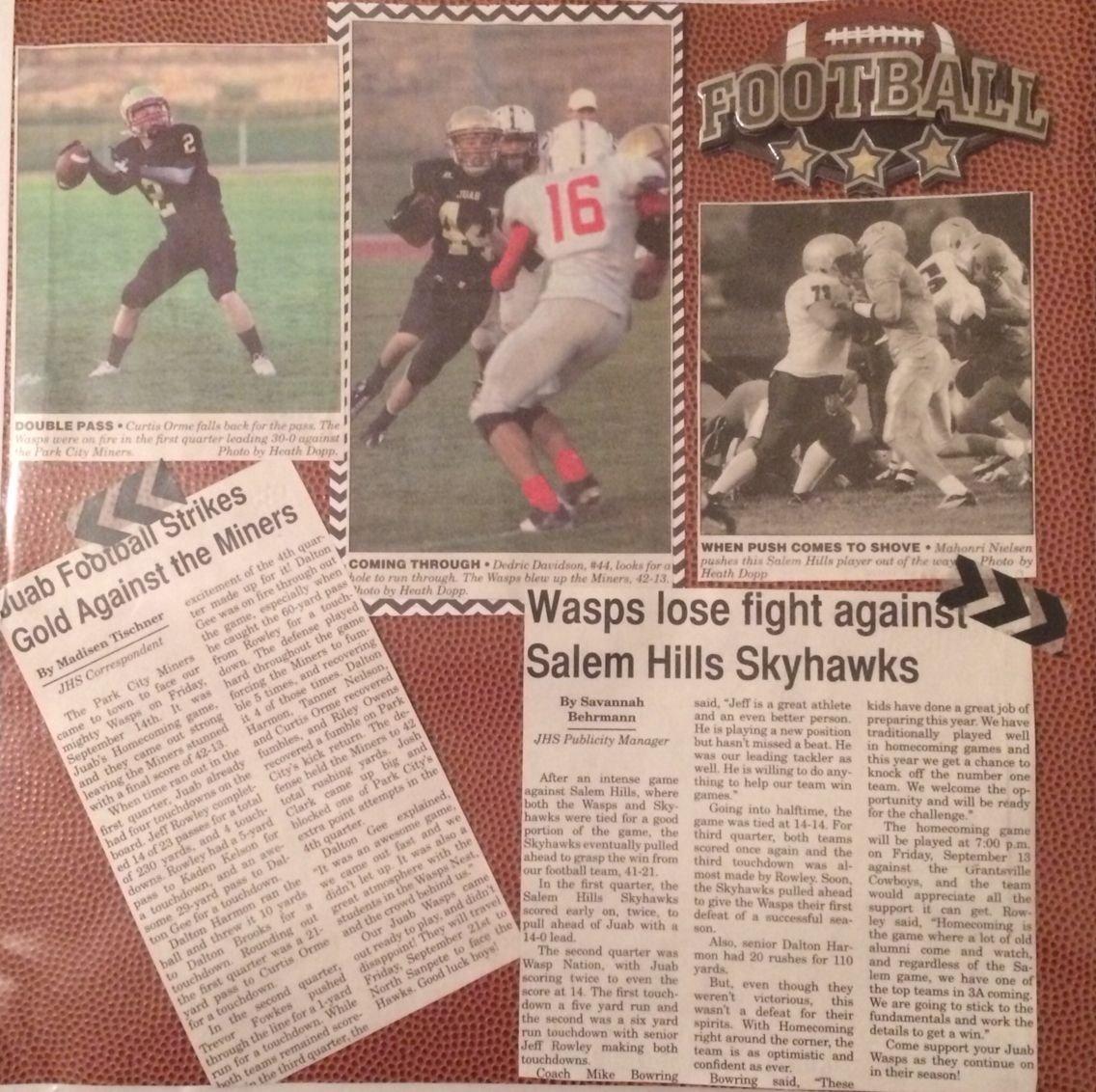 10 Nice High School Newspaper Article Ideas senior scrapbook sports scrapbook scrapbook with newspaper
