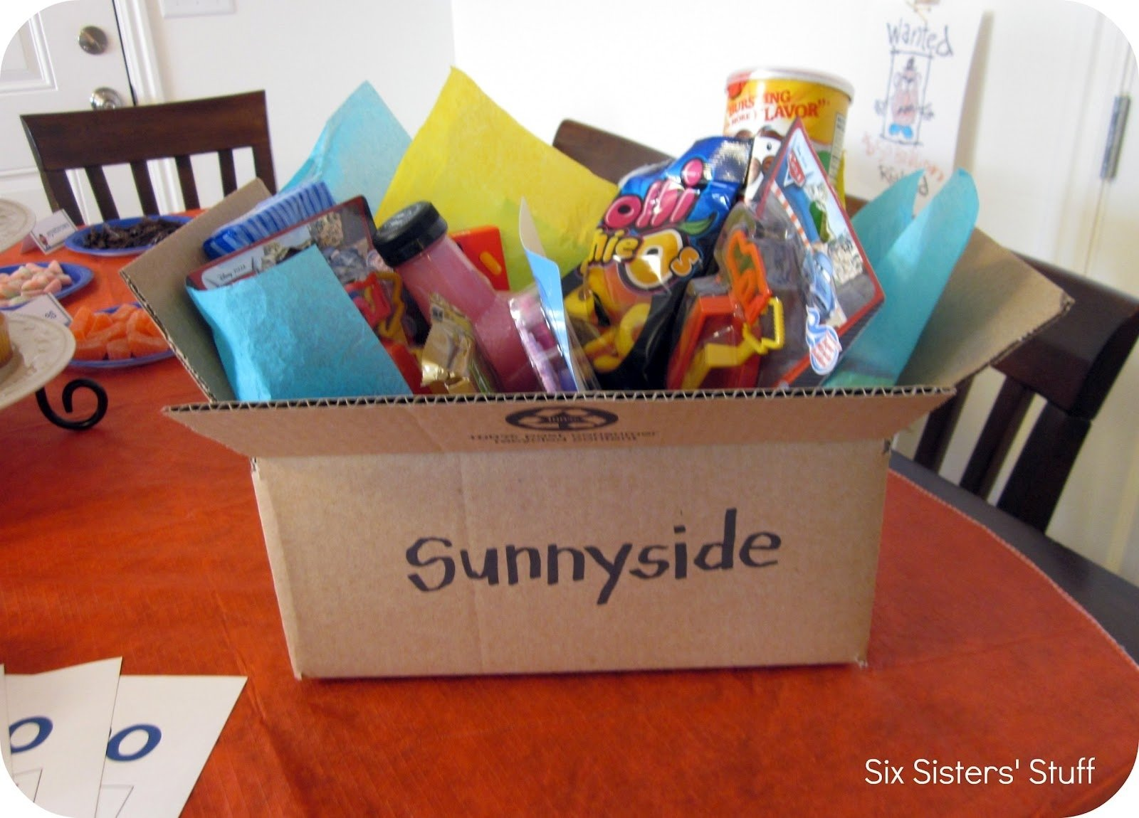 seriously cute - toy story themed party: game winners get to save a