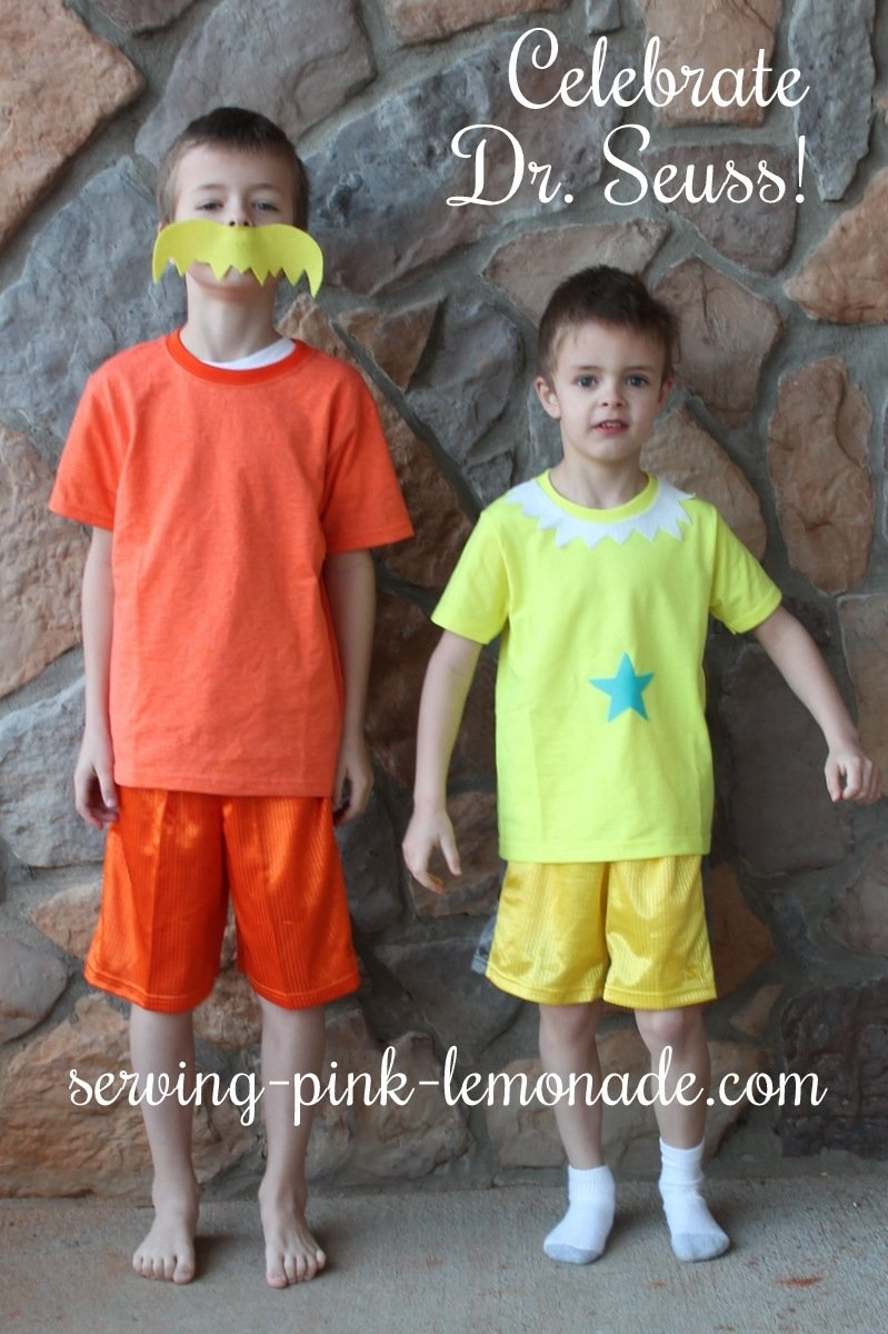 10 Stylish Easy Dr Seuss Costume Ideas serving pink lemonade dr seuss costumes 4 2020