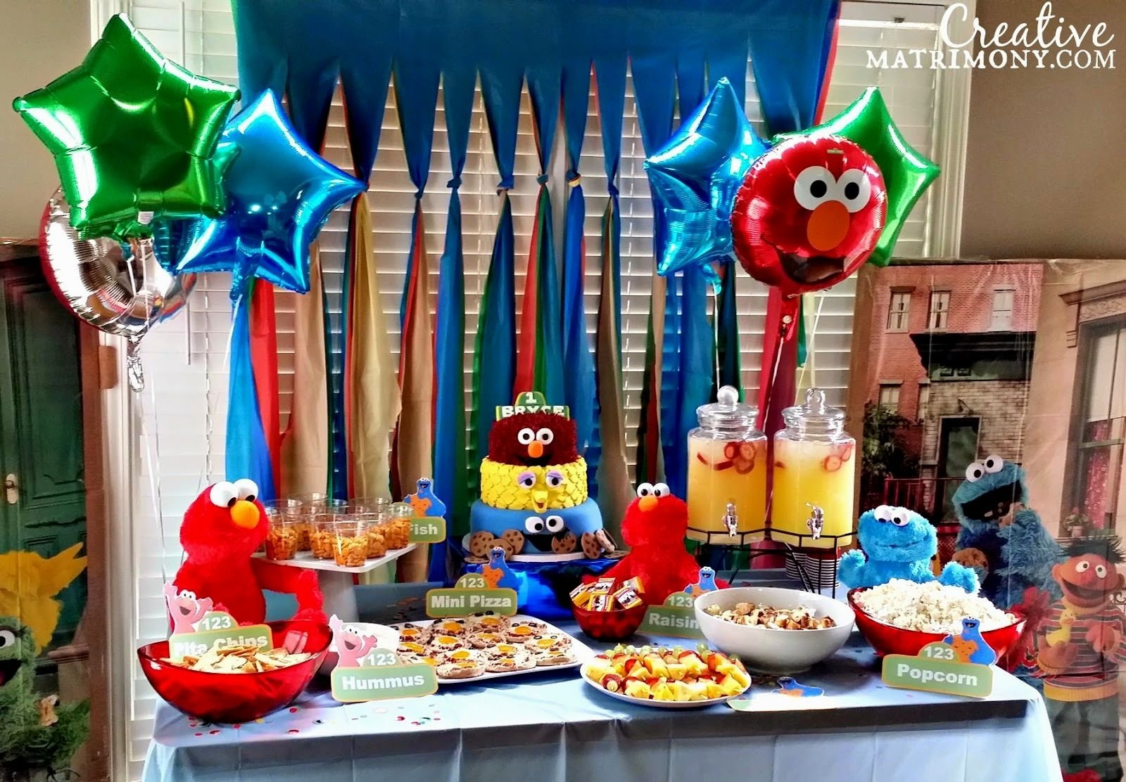 10 Trendy Sesame Street First Birthday Party Ideas 1st Parties Decorating Of