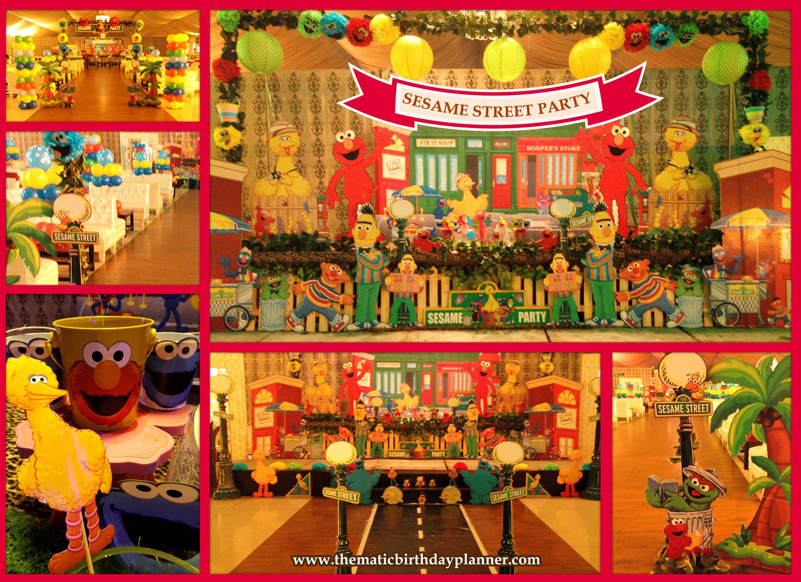10 Most Recommended Sesame Street 1St Birthday Ideas sesame street 1st birthday party ideas theme planner in pakistan 2020
