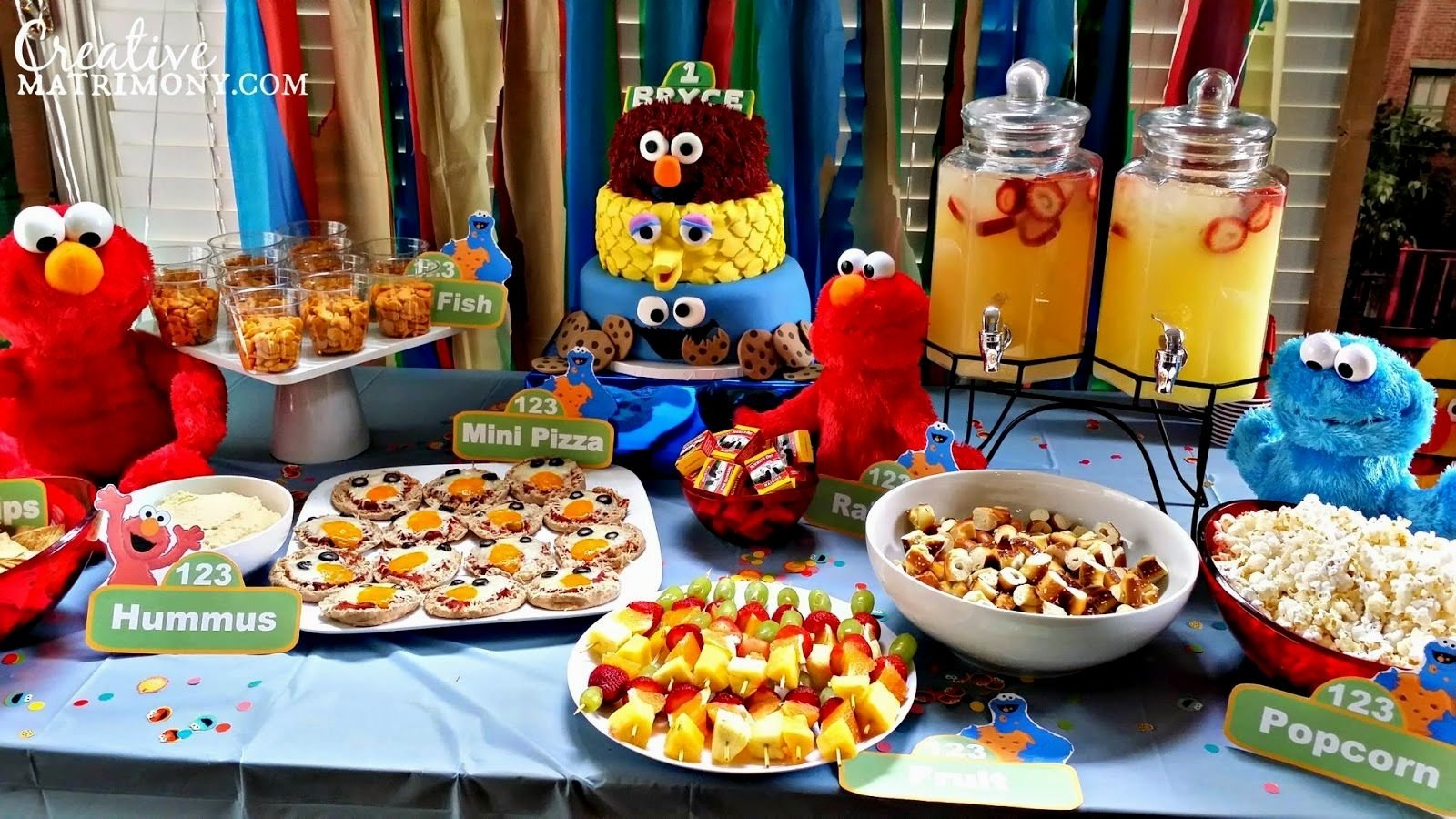 10 Most Recommended Sesame Street 1St Birthday Ideas sesame street 1t birthday ideas decorating of party 2020