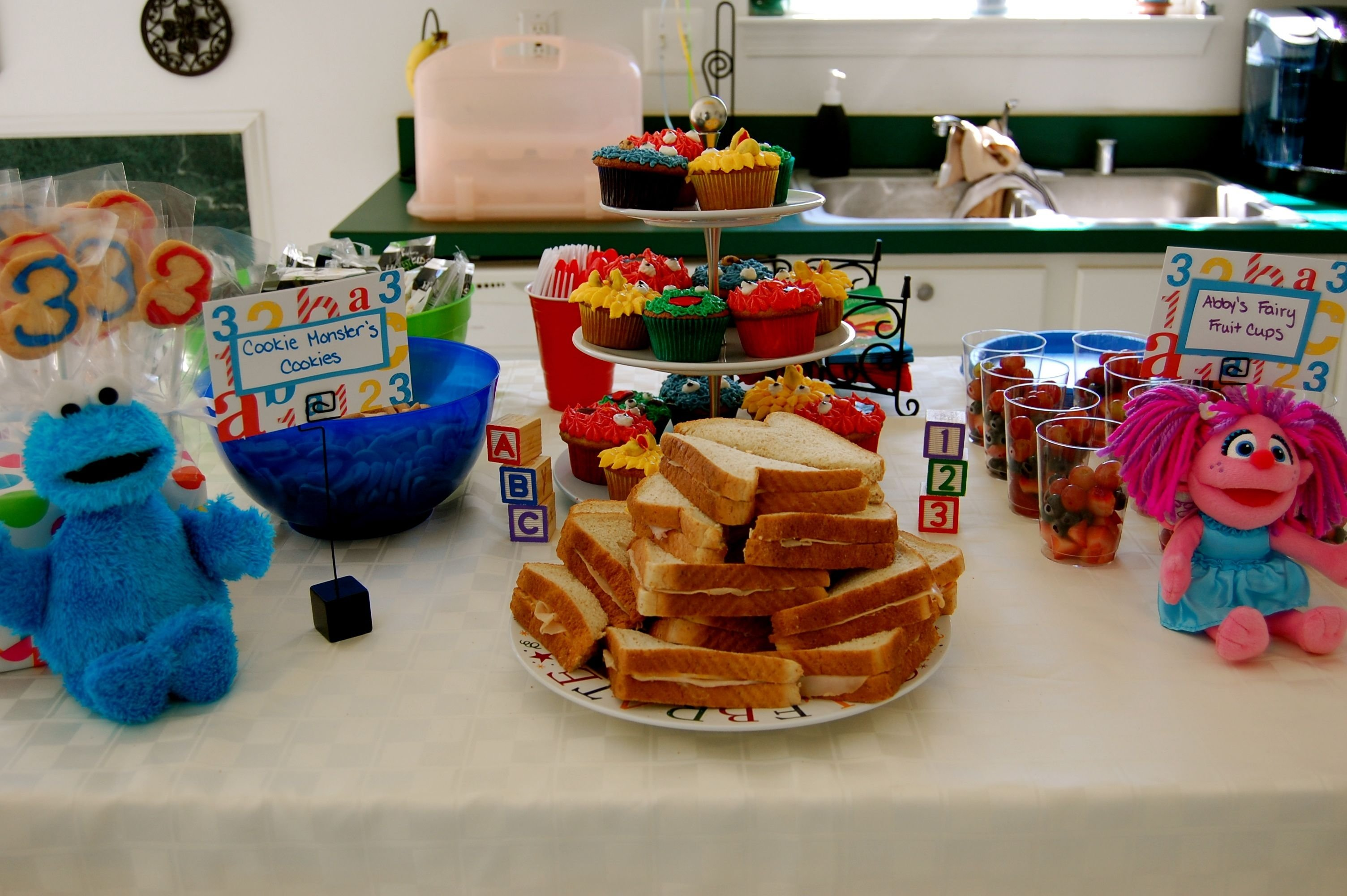 10 Attractive Sesame Street Party Food Ideas sesame street 3rd birthday party decorations and food sesame 2020