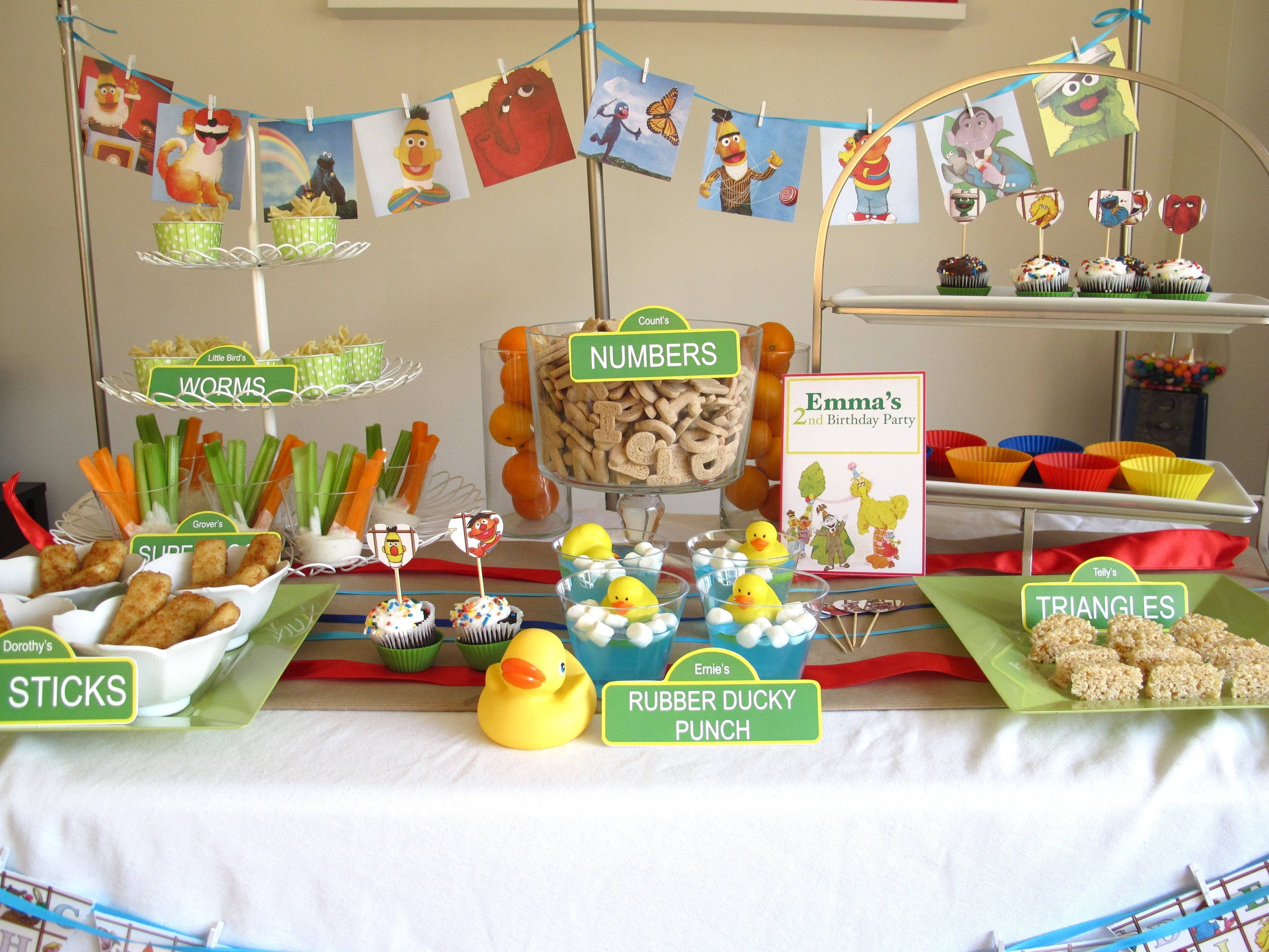 sesame street party food | sesame street birthday, sesame streets