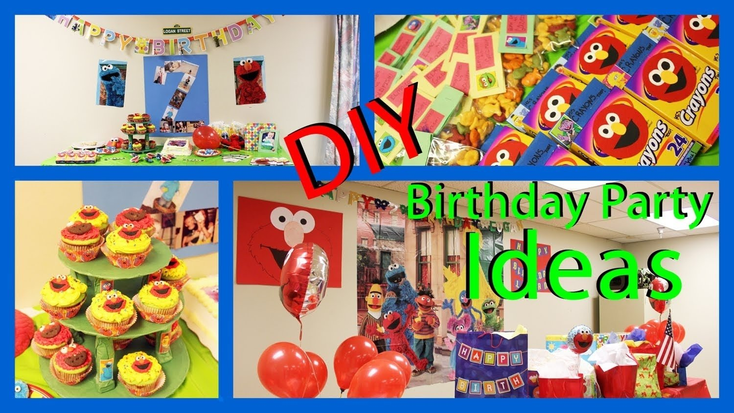 10 Wonderful Ideas For 2Nd Birthday Party sesame street party ideas photos of my sons 2nd birthday party