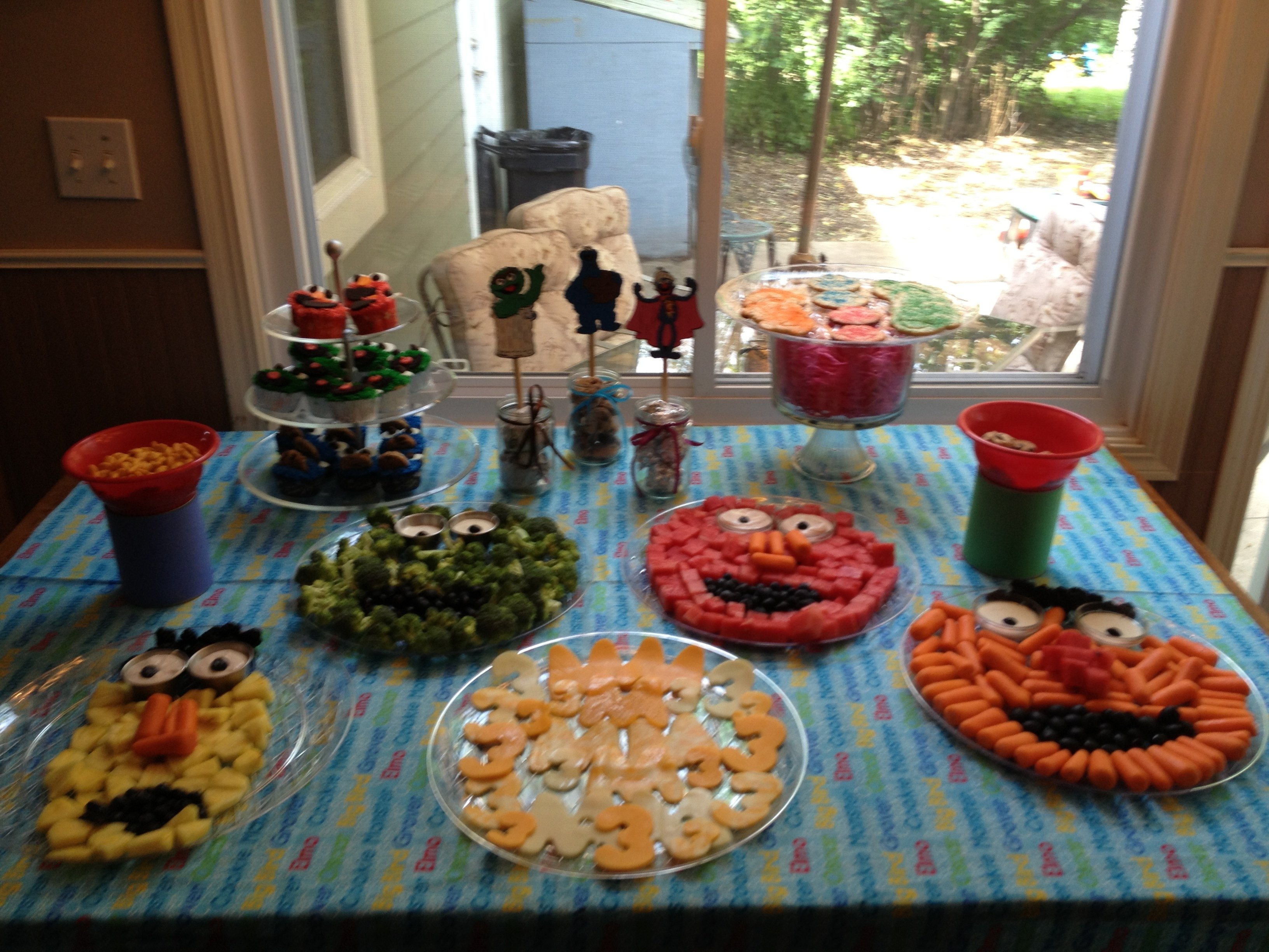 10 Attractive Sesame Street Party Food Ideas sesame street party monstrous food not your normal steam 2020