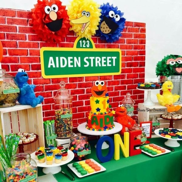 10 Most Recommended Sesame Street 1St Birthday Ideas 2019