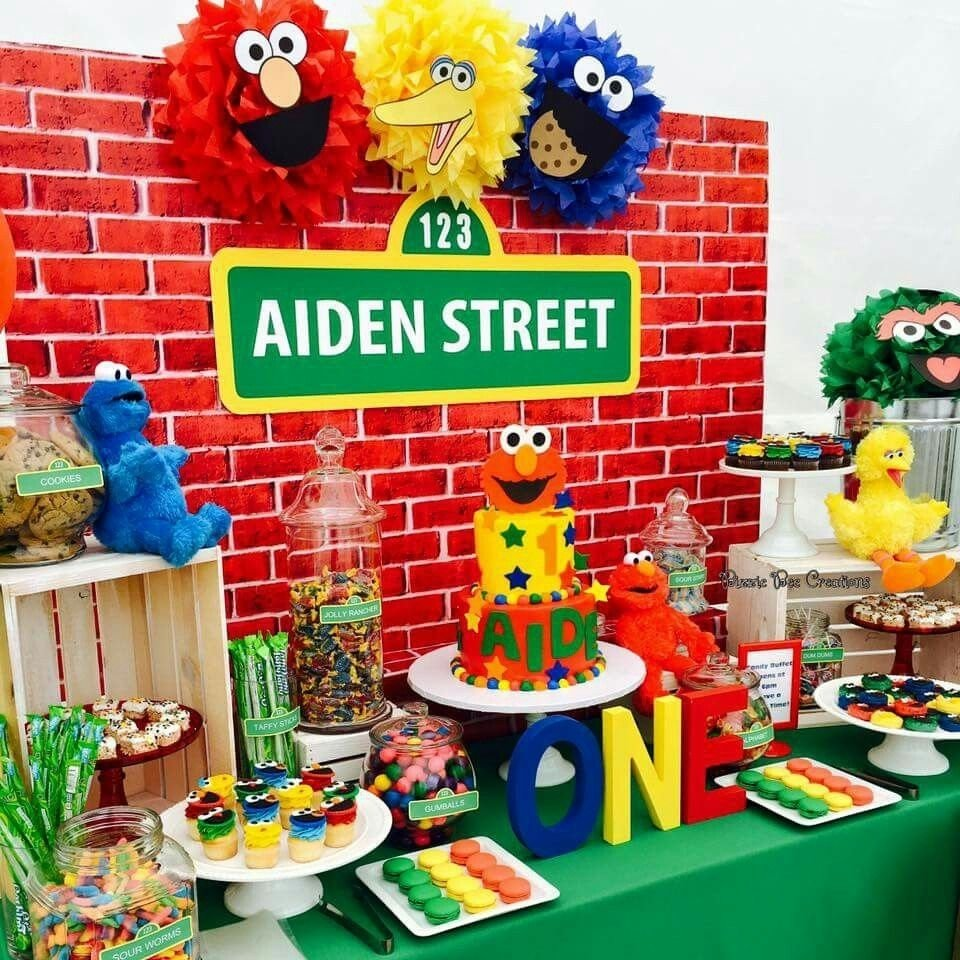 10 Lovely Sesame Street Party Ideas Decorations sesame street pinteres 9 2020