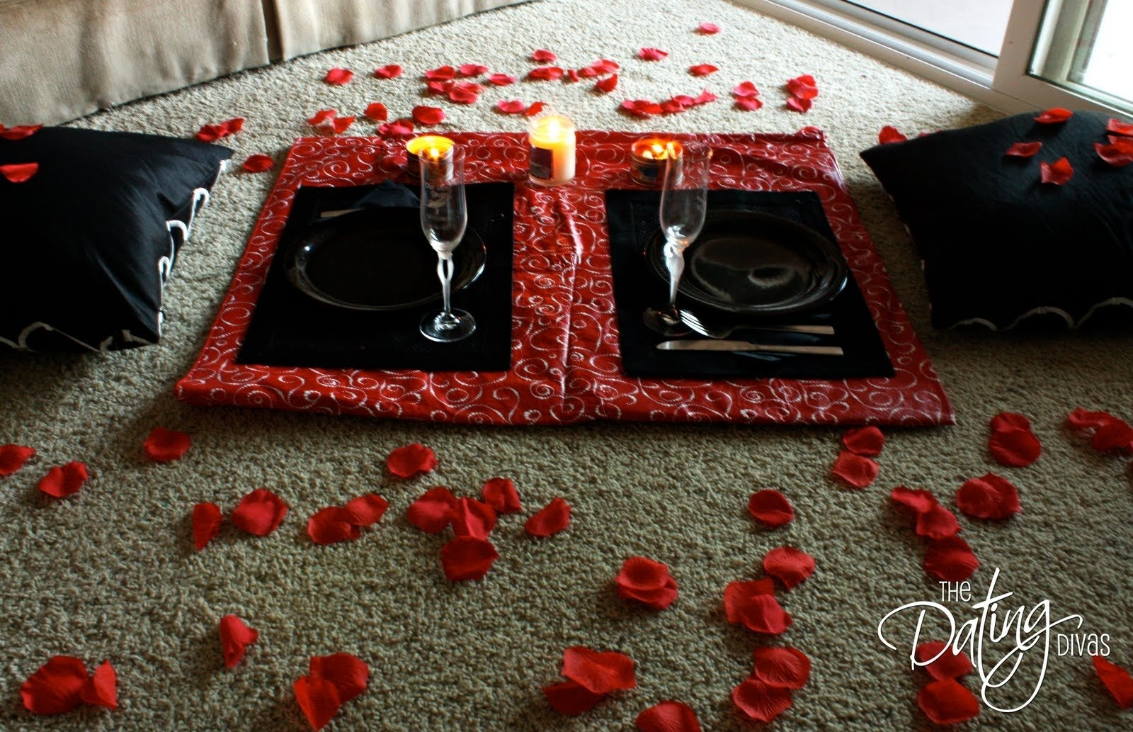 10 Stylish Romantic Picnic Ideas For Him set the mood with rose petals for romance with your spouse rose