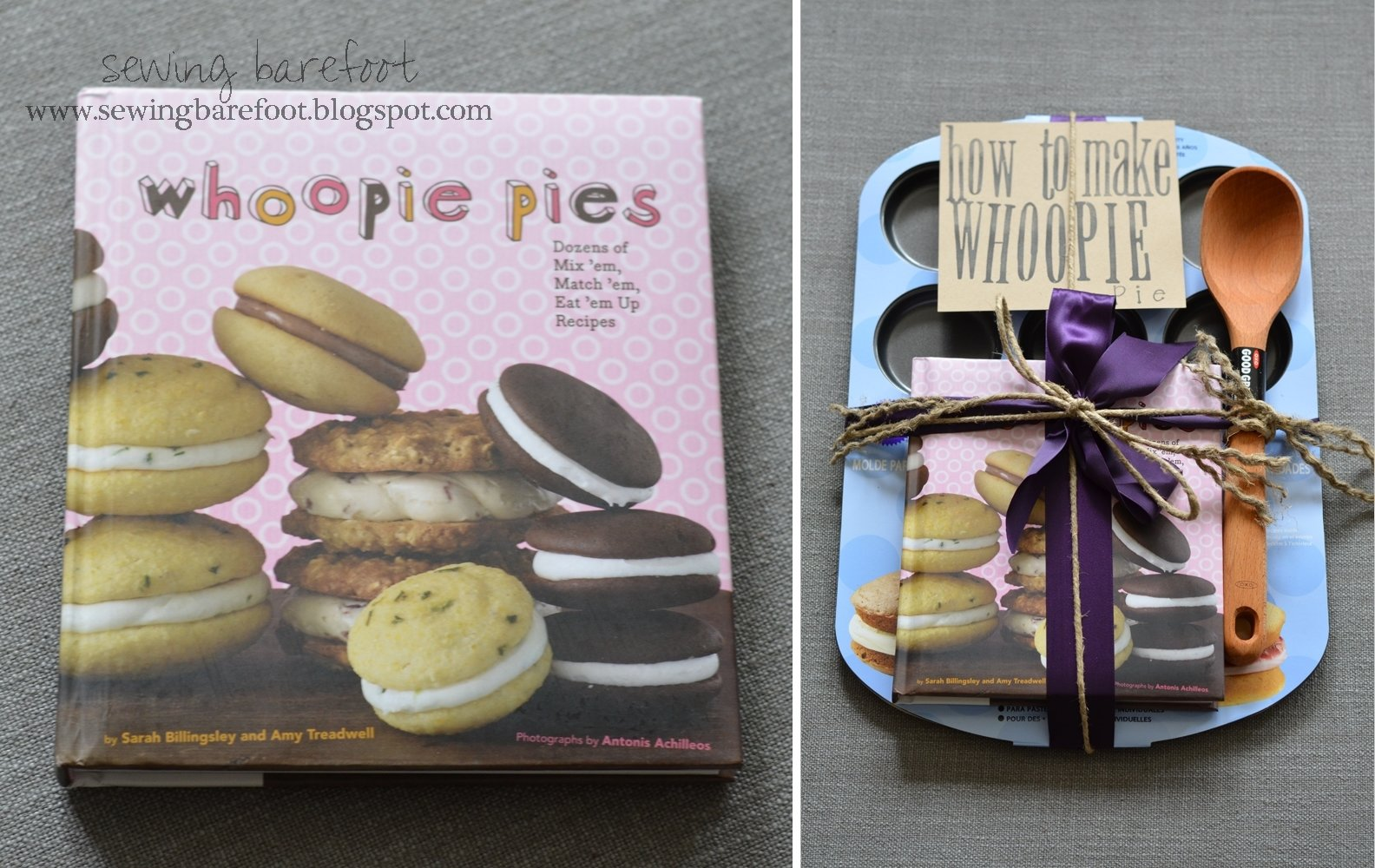 10 Nice Cute Wedding Shower Gift Ideas sewing barefoot how to make whoopie an adorable bridal shower gift 6 2020