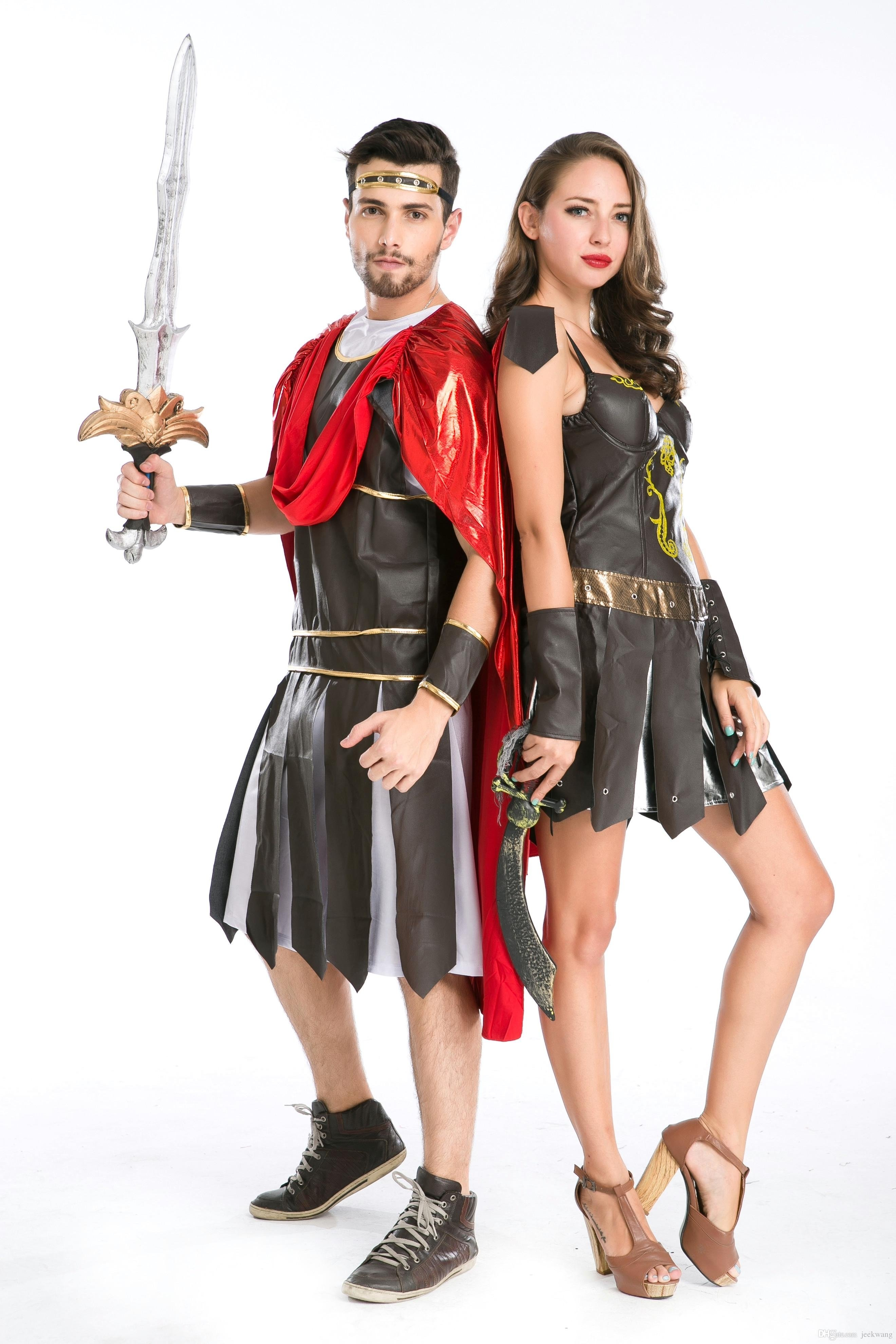 10 Great Sexy Couples Halloween Costume Ideas sexy adults couples roman spartan warrior gladiator halloween party 2020