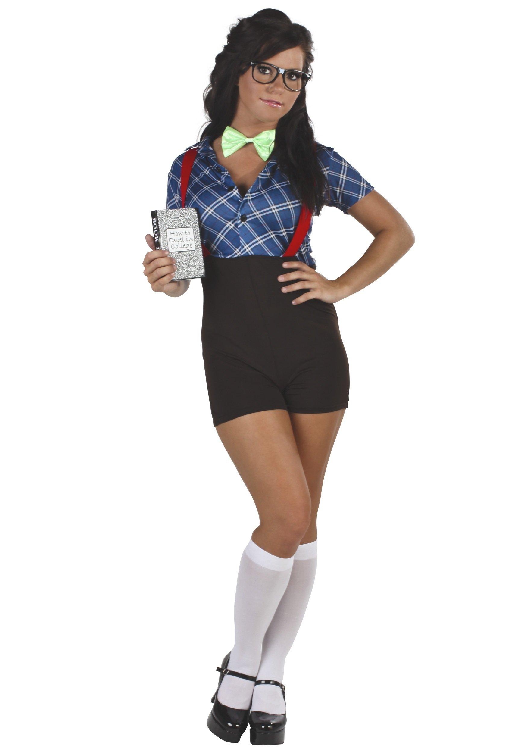 10 Wonderful Cool Halloween Costume Ideas For Girls sexy girl nerd costume halloween costumes 2020