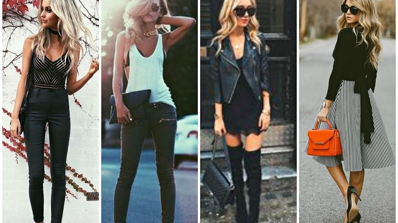 sexy girls night out outfit ideas - fall 2016 & winter 2017 fashion