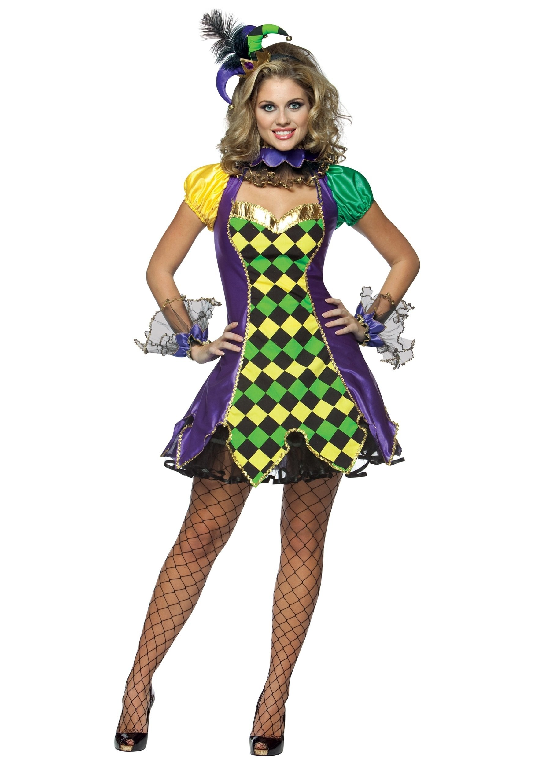10 Great Mardi Gras Party Outfit Ideas sexy mardi gras jester costume 2020