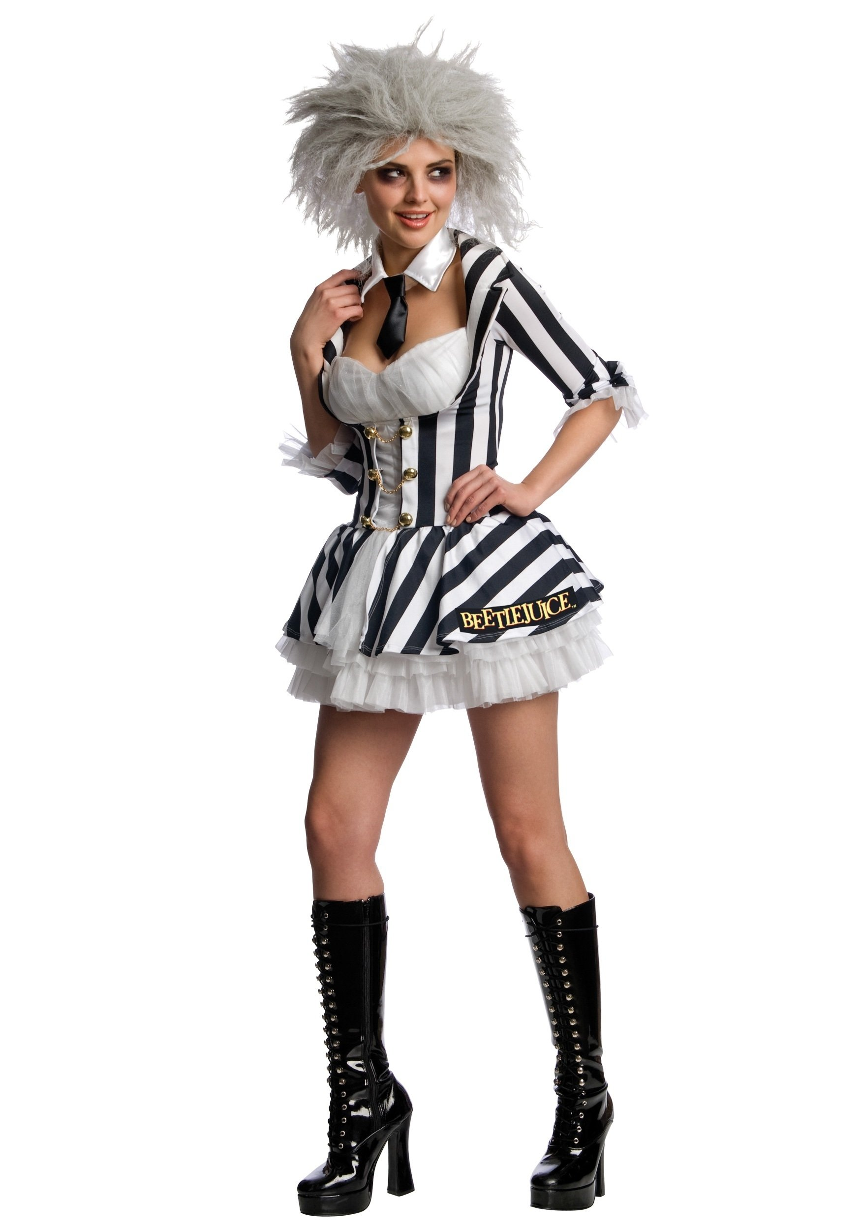 10 Stylish Movie Costume Ideas For Women sexy ms beetlejuice costume womens sexy scary movie costume ideas 2021