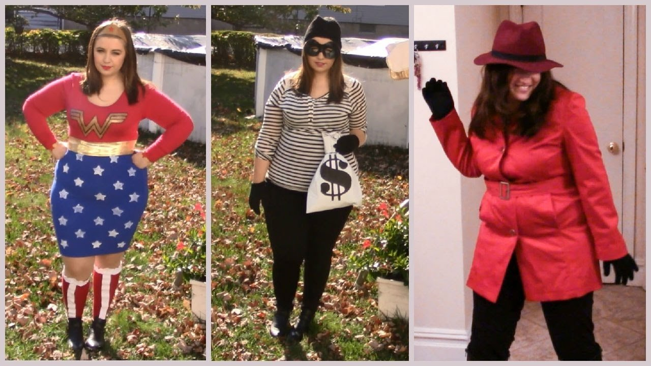 imágenes de homemade halloween costumes for plus size adults