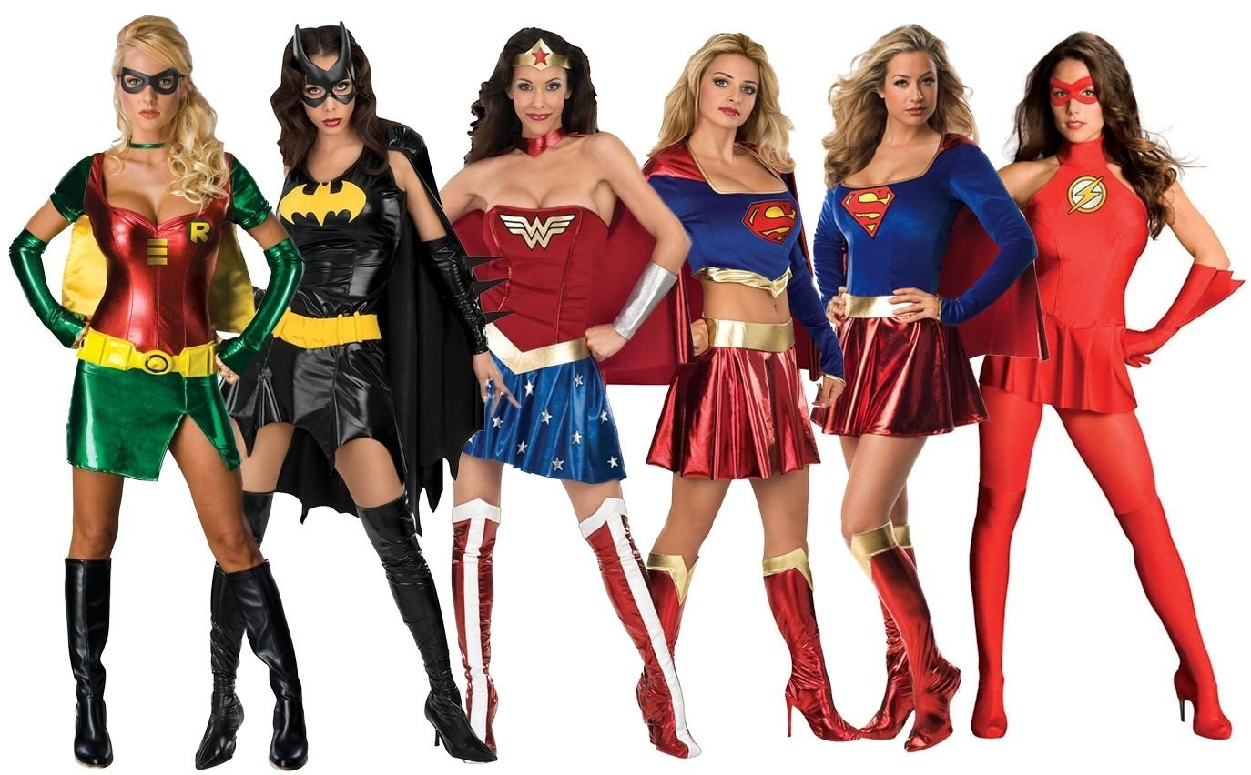 sexy superhero costumes womens comic book movie ladies adult fancy