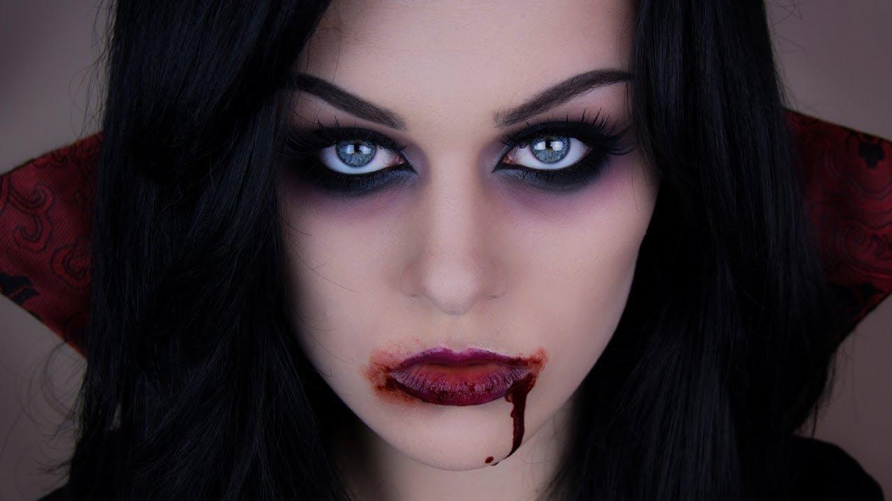 10 trendy vampire makeup ideas for women