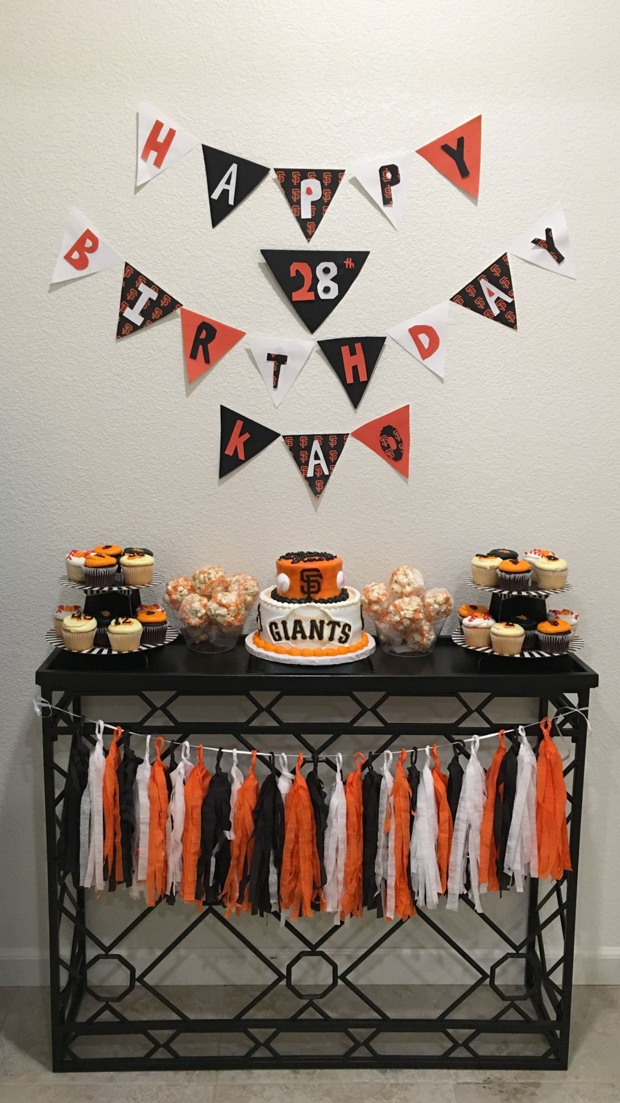 10 Unique Birthday Ideas In San Francisco Sf Giants Party Theme Birthdays