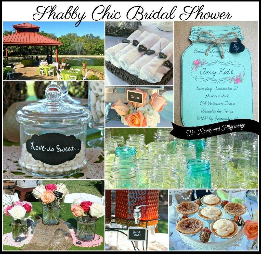 10 Attractive Shabby Chic Bridal Shower Ideas shabby chic bridal shower mason jars chalkboard burlap doilies 2020