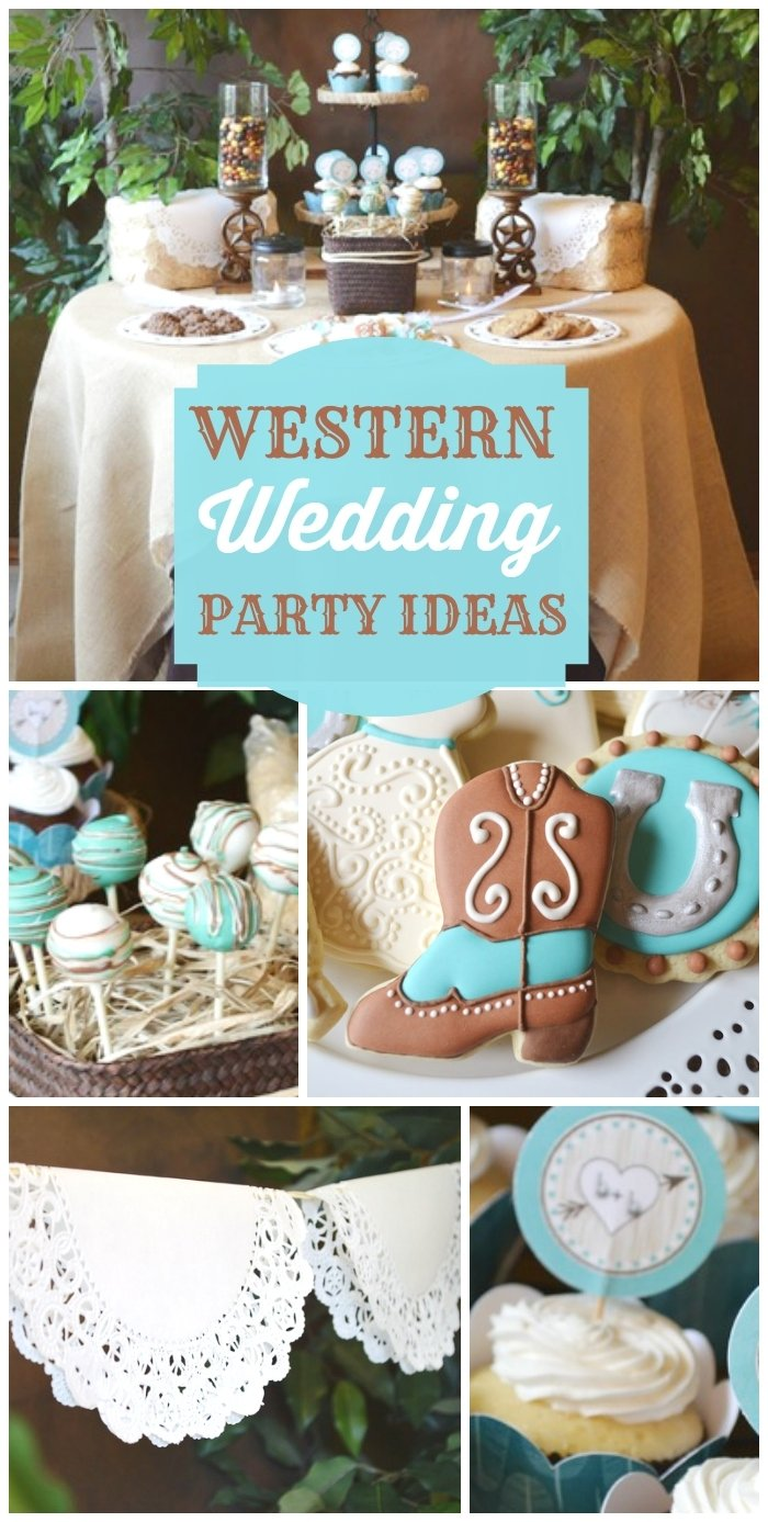 10 Attractive Shabby Chic Bridal Shower Ideas shabby chic western wedding shower bridal wedding shower a little 1 2020