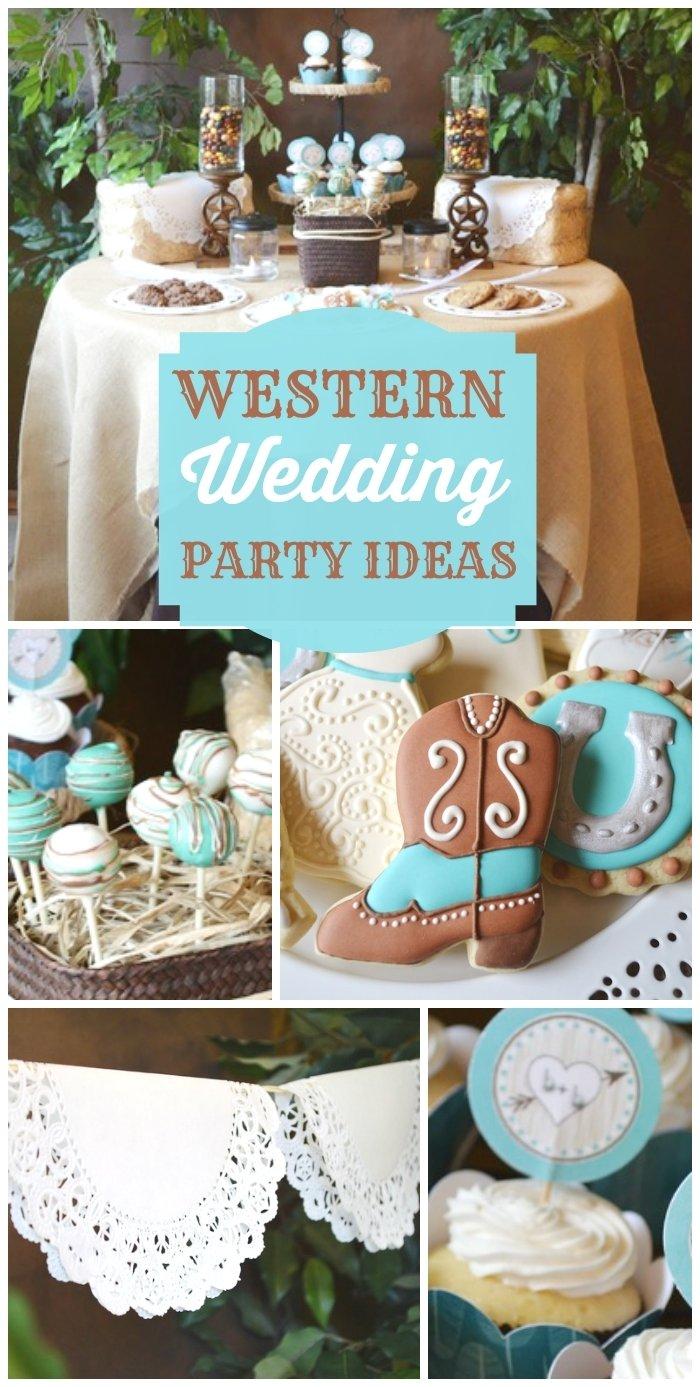 10 Fantastic Country Themed Bridal Shower Ideas shabby chic western wedding shower bridal wedding shower a little 2020