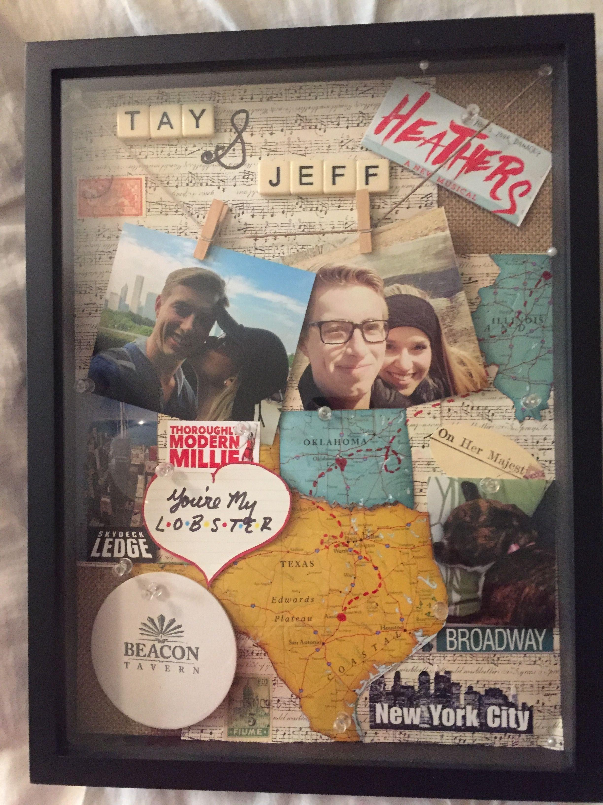 10 Amazing Graduation Gift Ideas For Best Friend shadow box crafts gift boyfriend best friend memories 2021