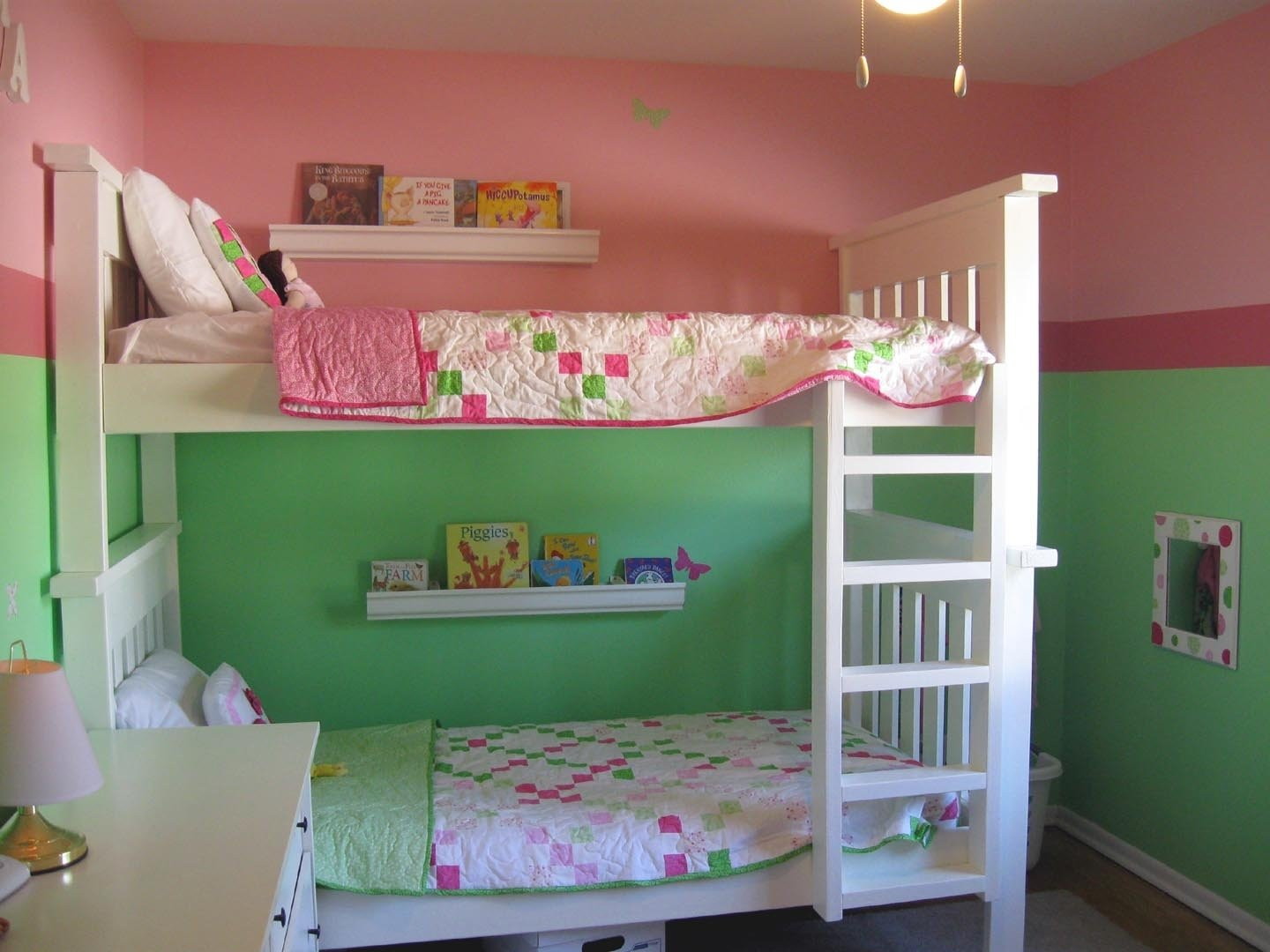 10 Gorgeous Girl And Boy Room Ideas shared pink little girls room redo decobizz 1 2020