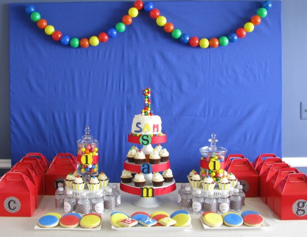 10 Fashionable Bounce House Birthday Party Ideas sheek shindigs a bouncing ba boys 1st birthday celebration for 2021