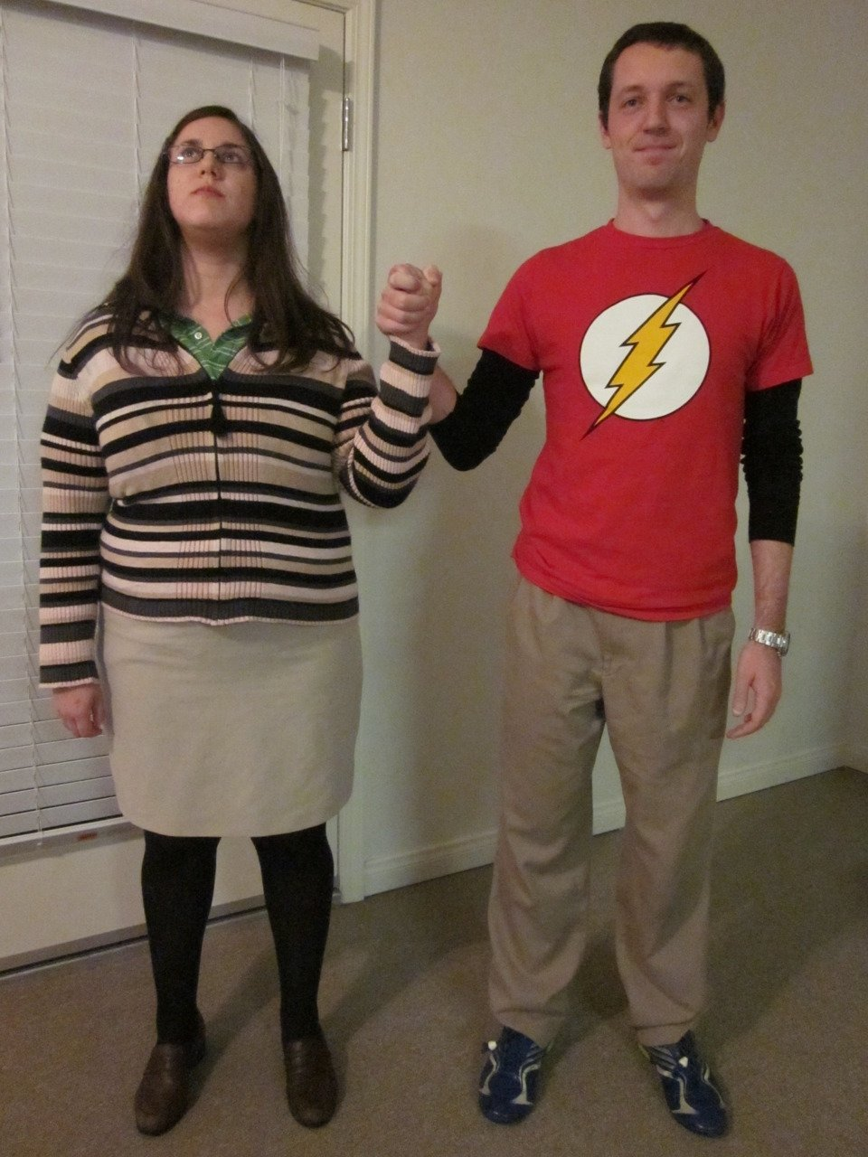 10 Lovable Funny Ideas For Halloween Costumes sheldon and amy costume totally want to do this cosplay 2020