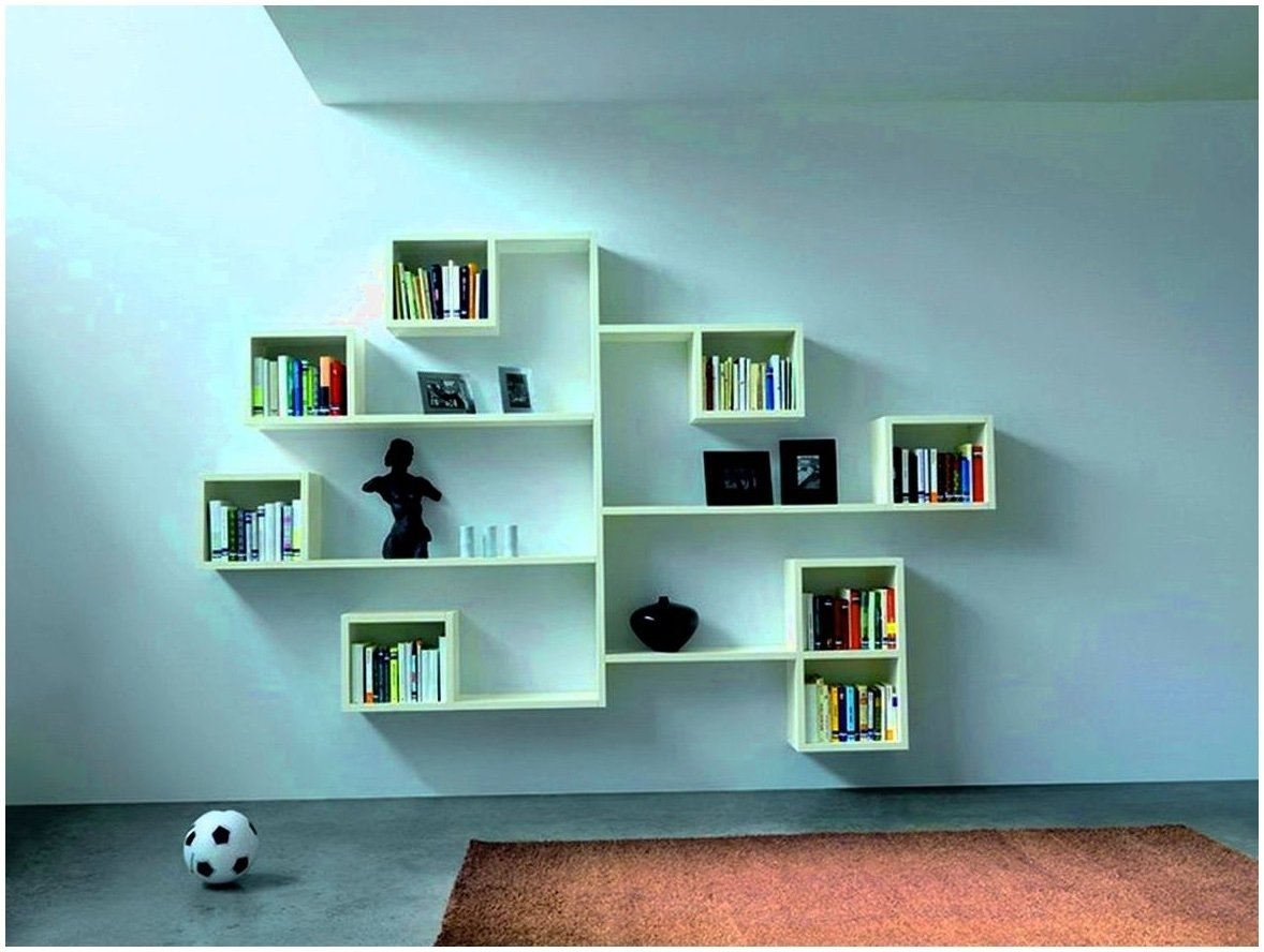 shelving ideas for bedroom walls