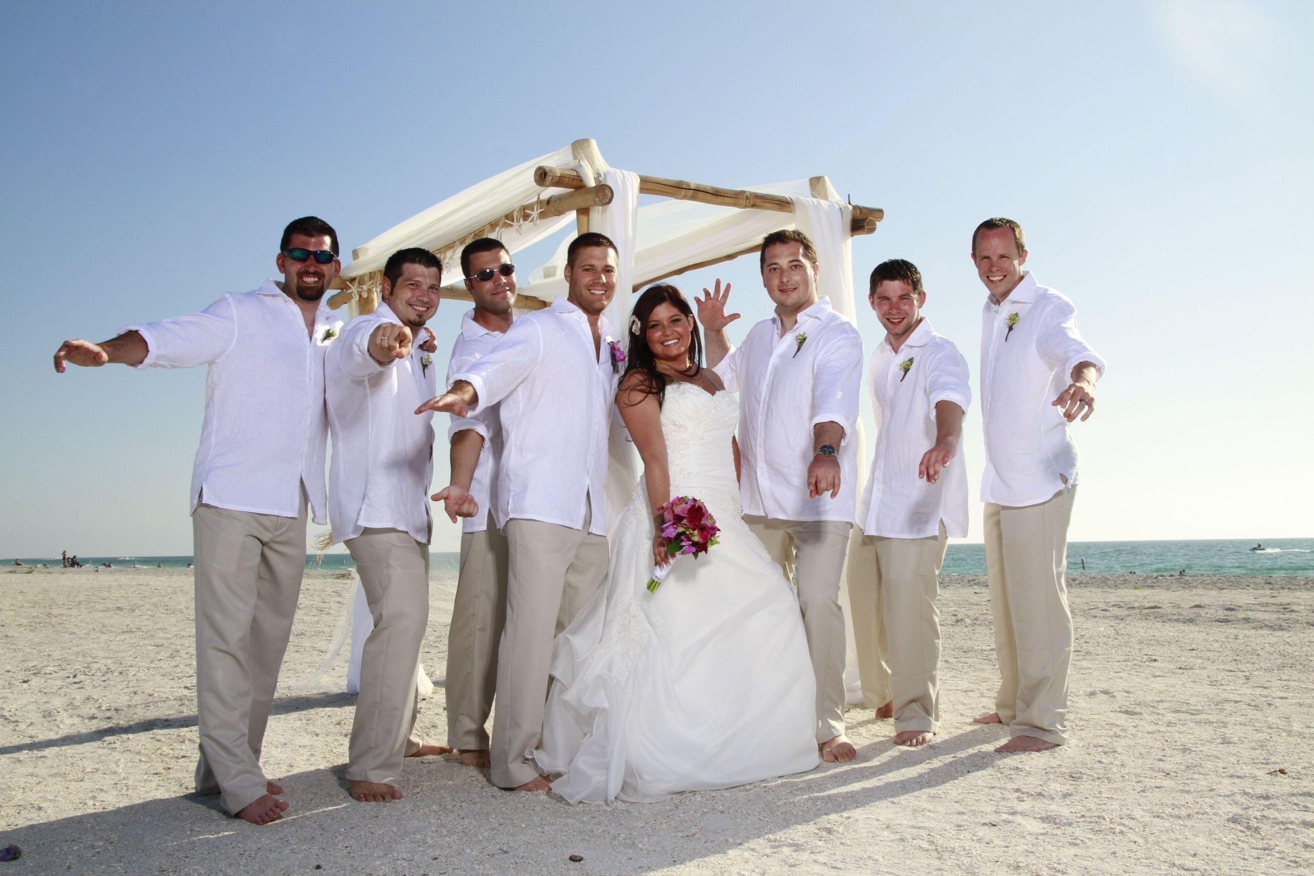 10 Attractive Mens Beach Wedding Attire Ideas