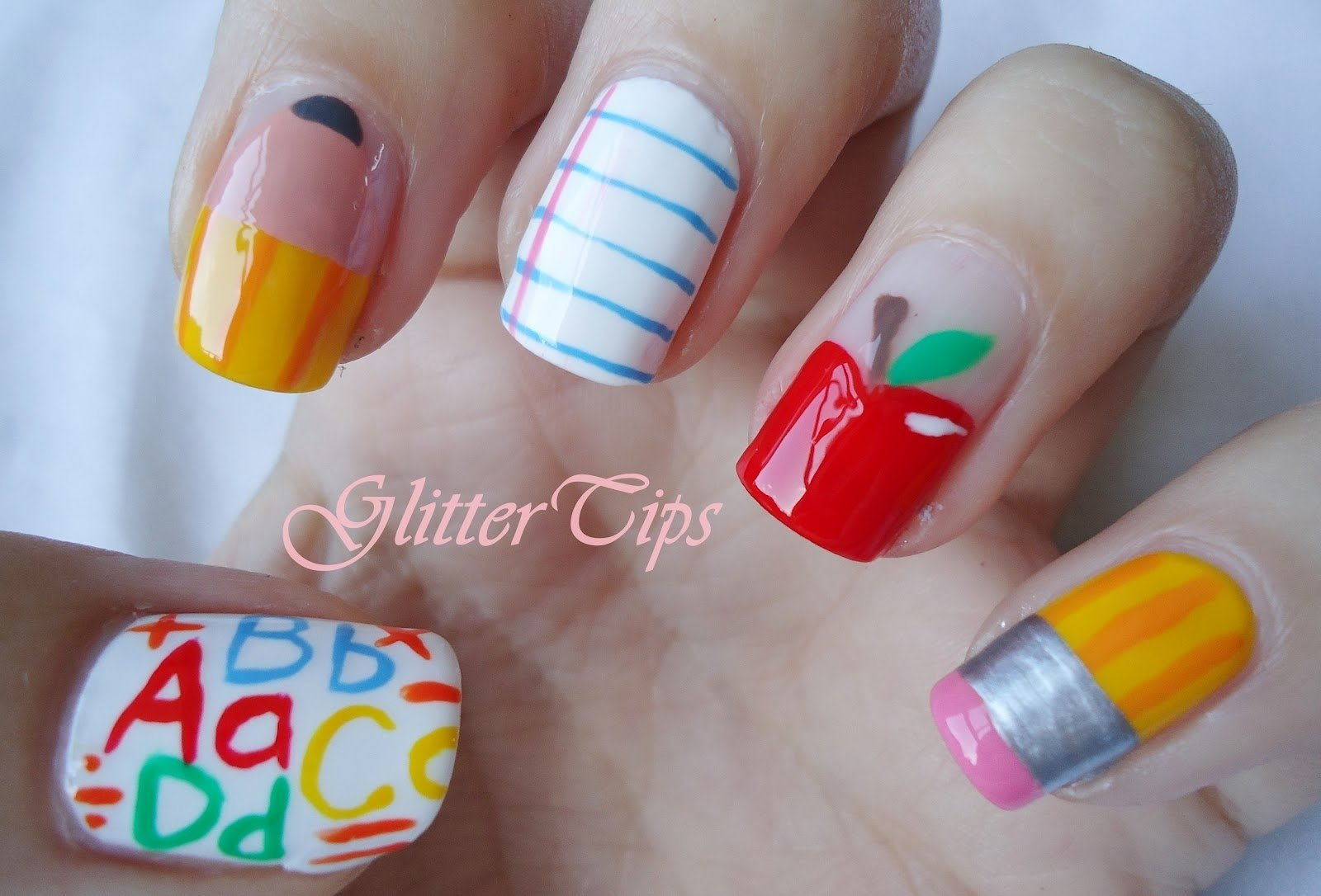 10 Fabulous Back To School Nail Ideas shocking cute u easy back to school nail designs for art popular and 2020