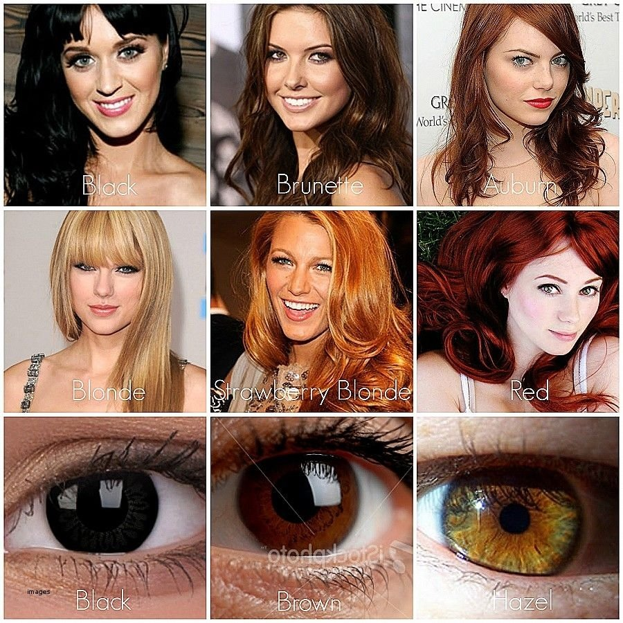 10 Pretty Warm Skin Tone Hair Color Ideas shocking hair color for cool skin and brown eyes unique pics of best 2020
