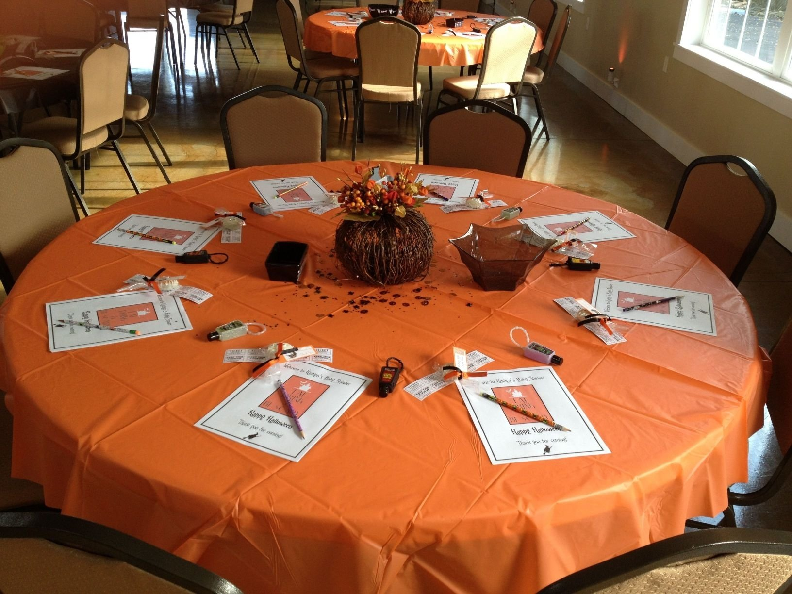 10 Fantastic Halloween Themed Baby Shower Ideas shocking halloween themed baby shower table setup our events picture 2020