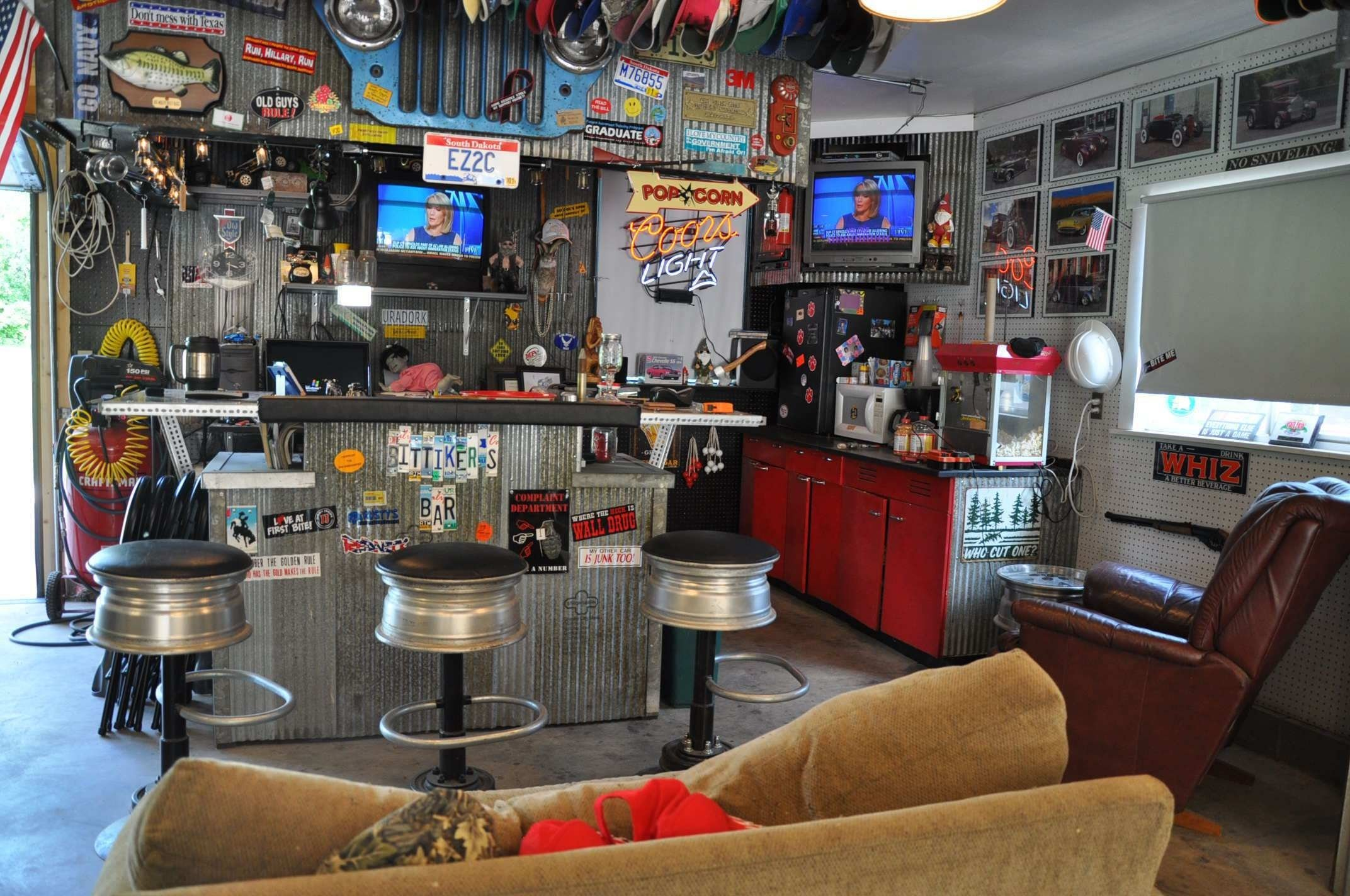 10 Pretty Man Cave Ideas On A Budget shocking wondrous your lighting decor in interior man basement wet 2020