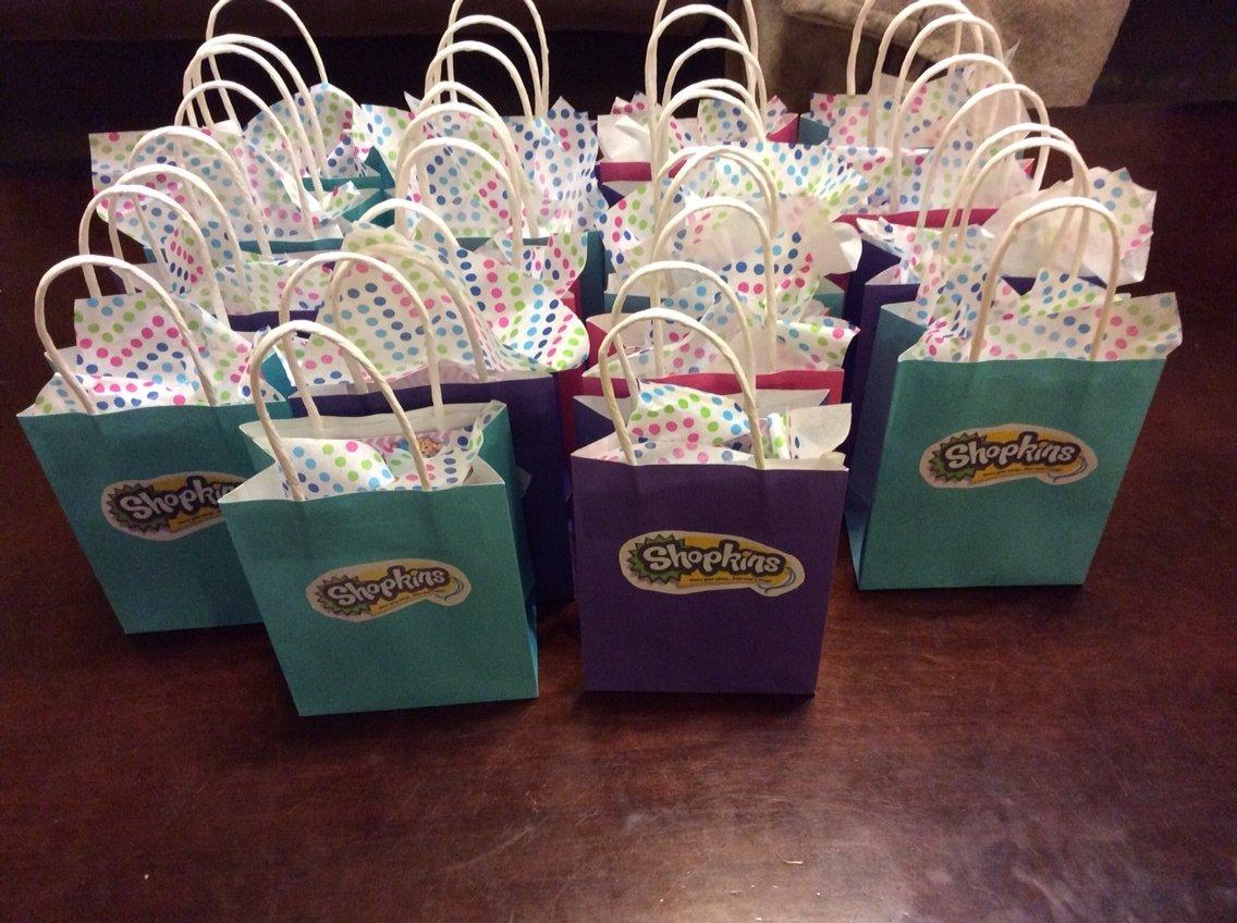 10 Most Popular Birthday Party Treat Bag Ideas shopkins birthday favor bags with shopkin themed treats inside 1 2021