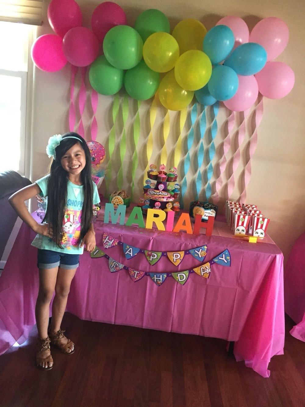 10 Pretty 6Th Birthday Party Ideas For Girls Shopkins Idea Kids