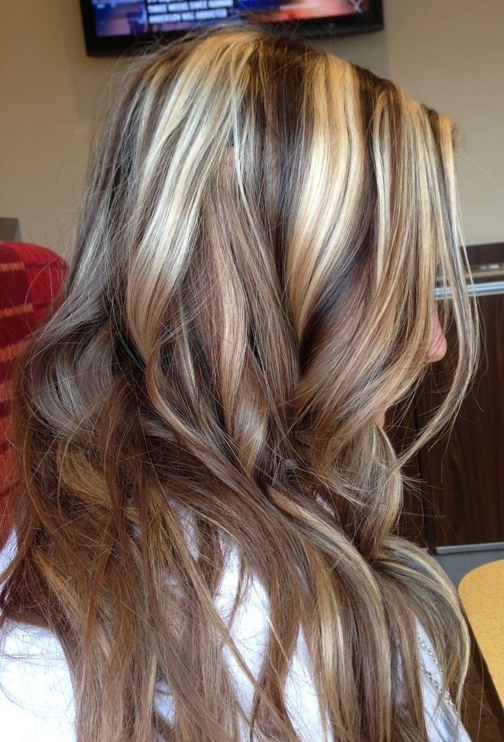 10 Attractive Dark Brown And Blonde Hair Color Ideas