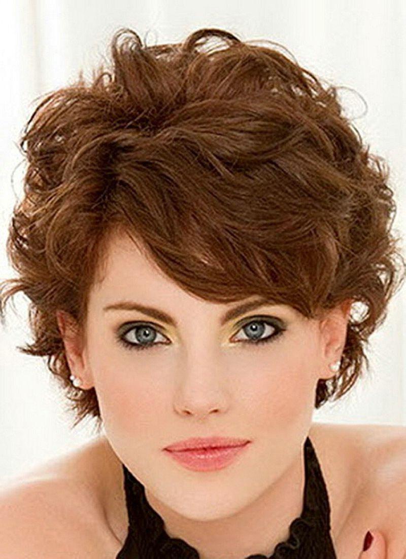10 Trendy Ideas For Short Curly Hair short fine curly hair haircuts short hairstyles for fine wavy hair 2021