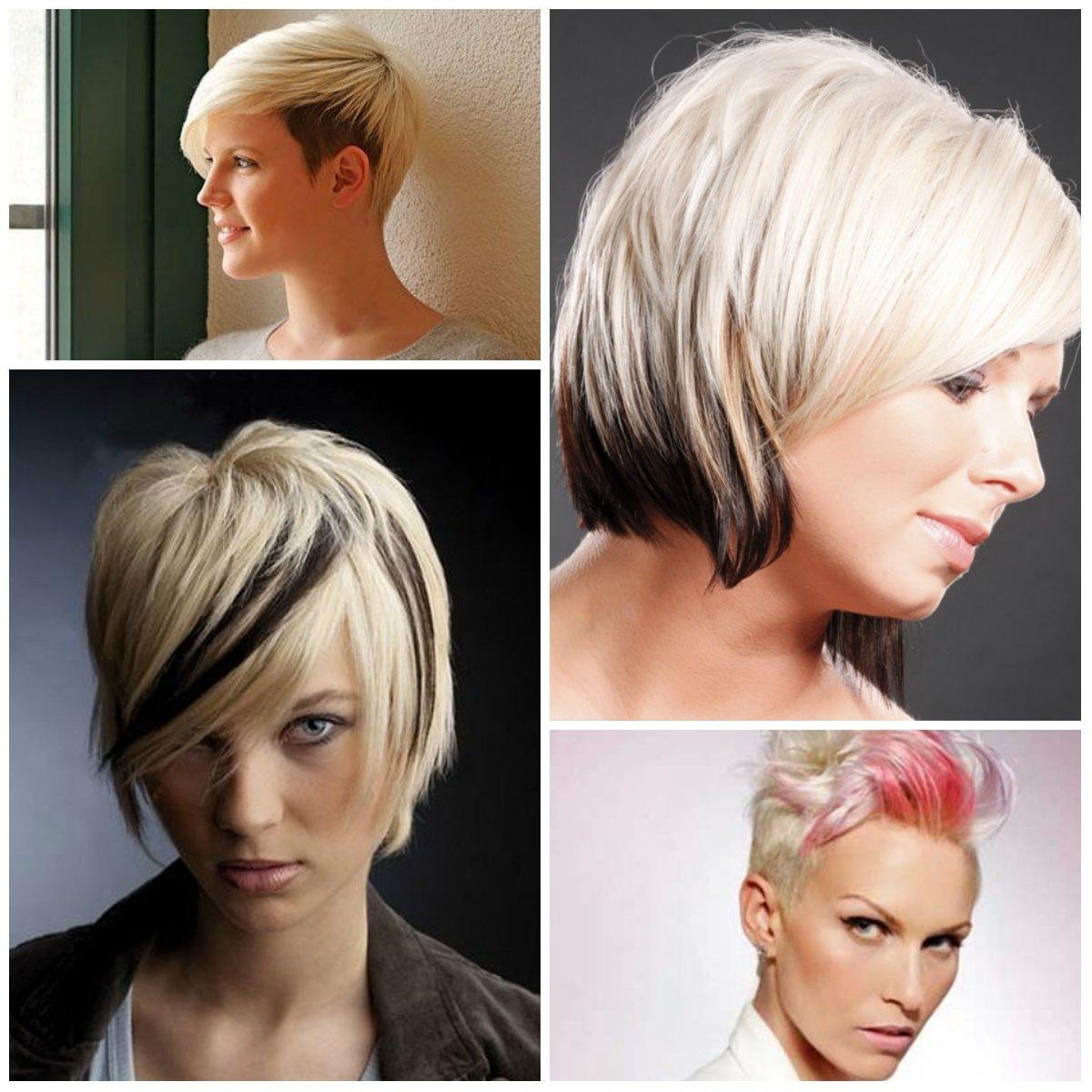 10 Pretty Cute Short Hair Color Ideas