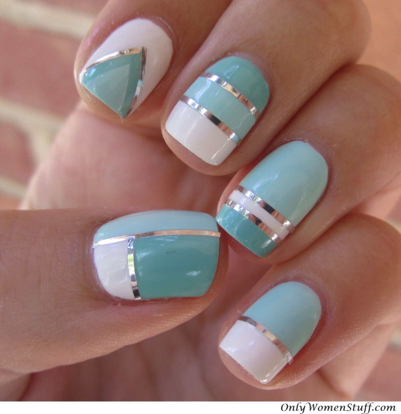 10 Nice Nail Design Ideas For Short Nails short nail art designs ideas vintage nail designs for short nails 1