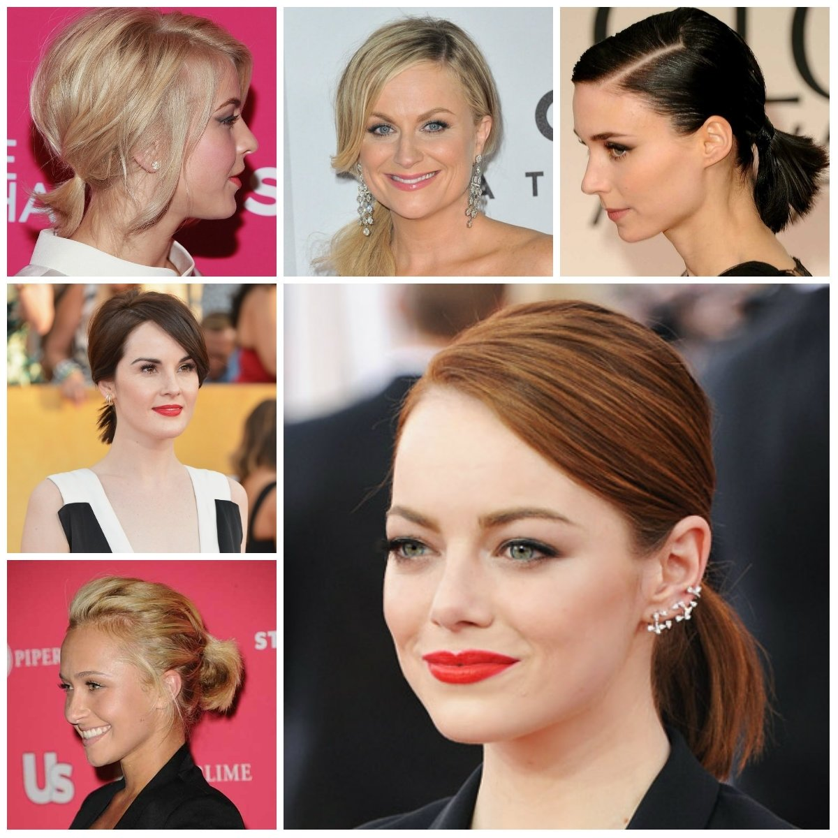 10 Unique Ponytail Ideas For Short Hair short ponytail hairstyles from hollywood for 2017 new haircuts to 2021