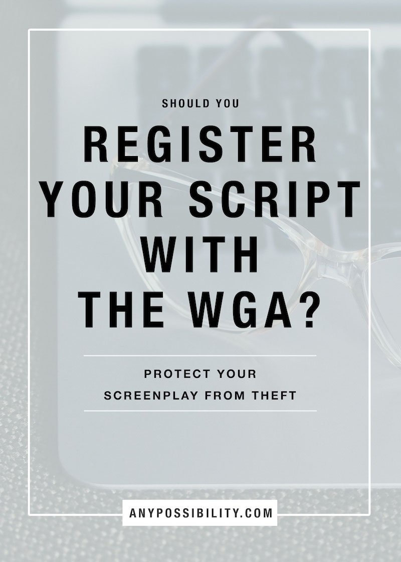 10 Cute Can You Copyright An Idea should you register your script with the wga any possibility 2020