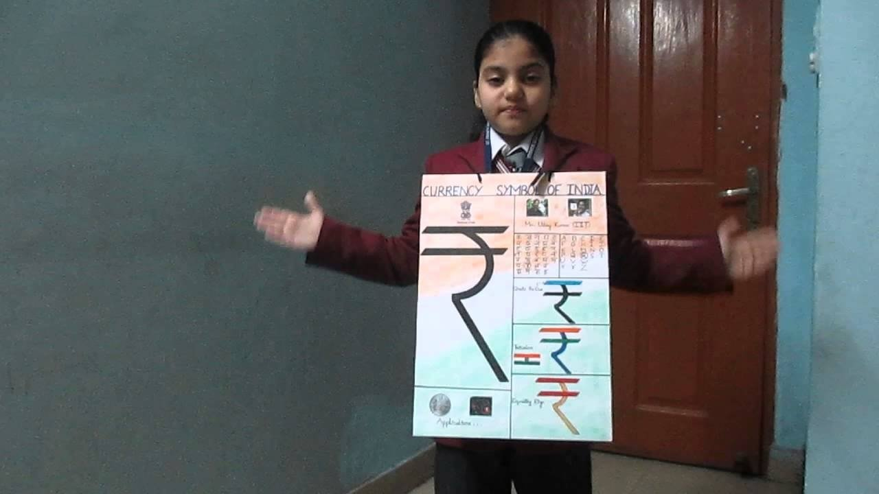 10 Best Show And Tell Ideas For Kindergarten show and tell competition on currency symbol of india ananya chand 1 2020
