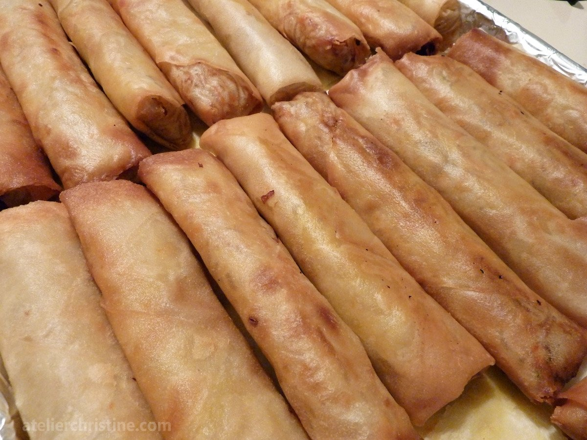 10 Lovely Egg Roll Wrapper Recipe Ideas shrimp and pork egg rolls spring rolls recipe atelier christine 2021
