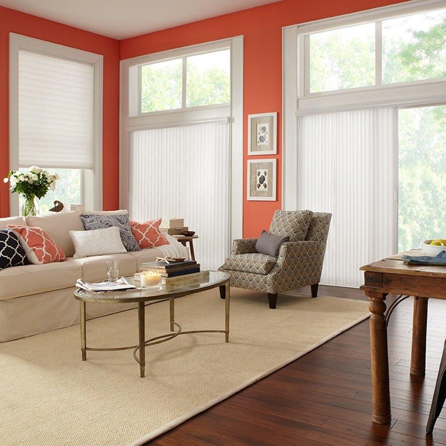 10 Attractive Sliding Door Window Treatments Ideas shutters patio door window treatments grande room patio door 2020