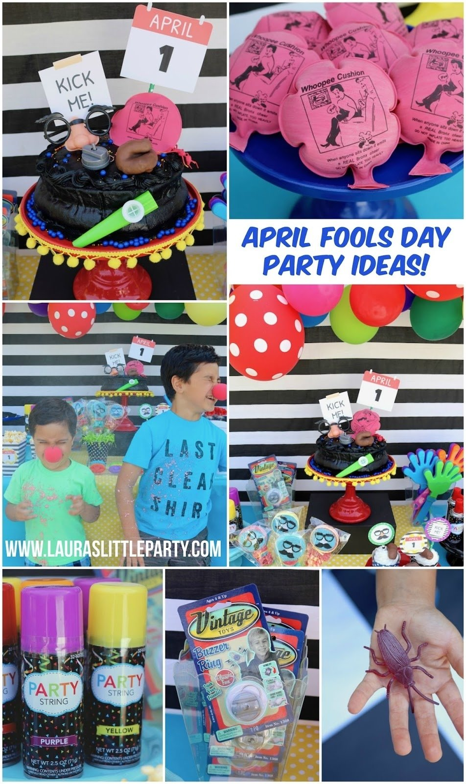 10 Attractive April Fools Day Party Ideas silly ideas for an april fools day party lauras little party 2020