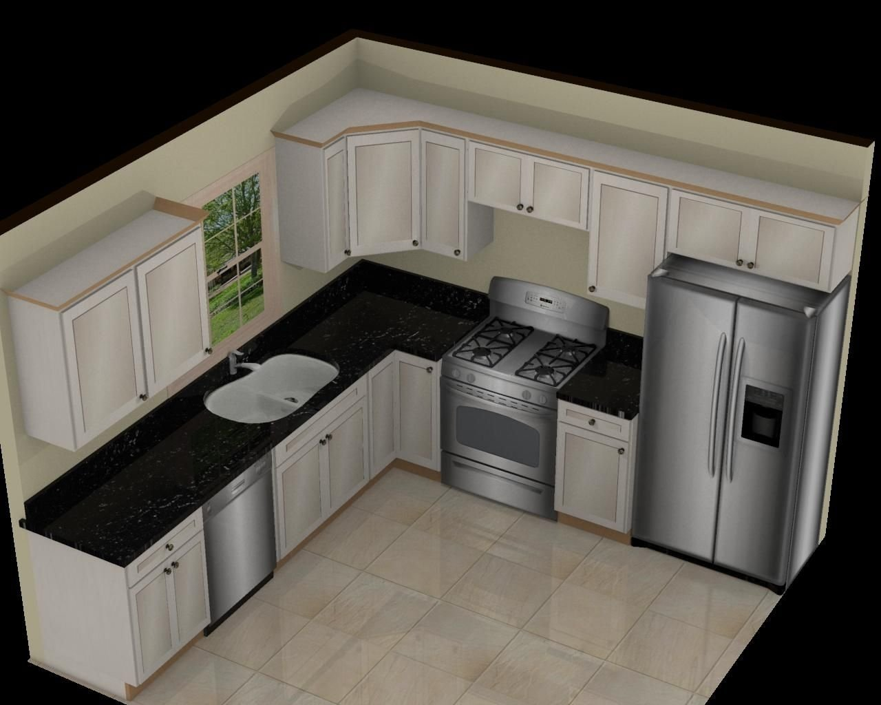 10 Awesome Small Kitchen Design Layout Ideas similar to original design get rid of window long pantry add
